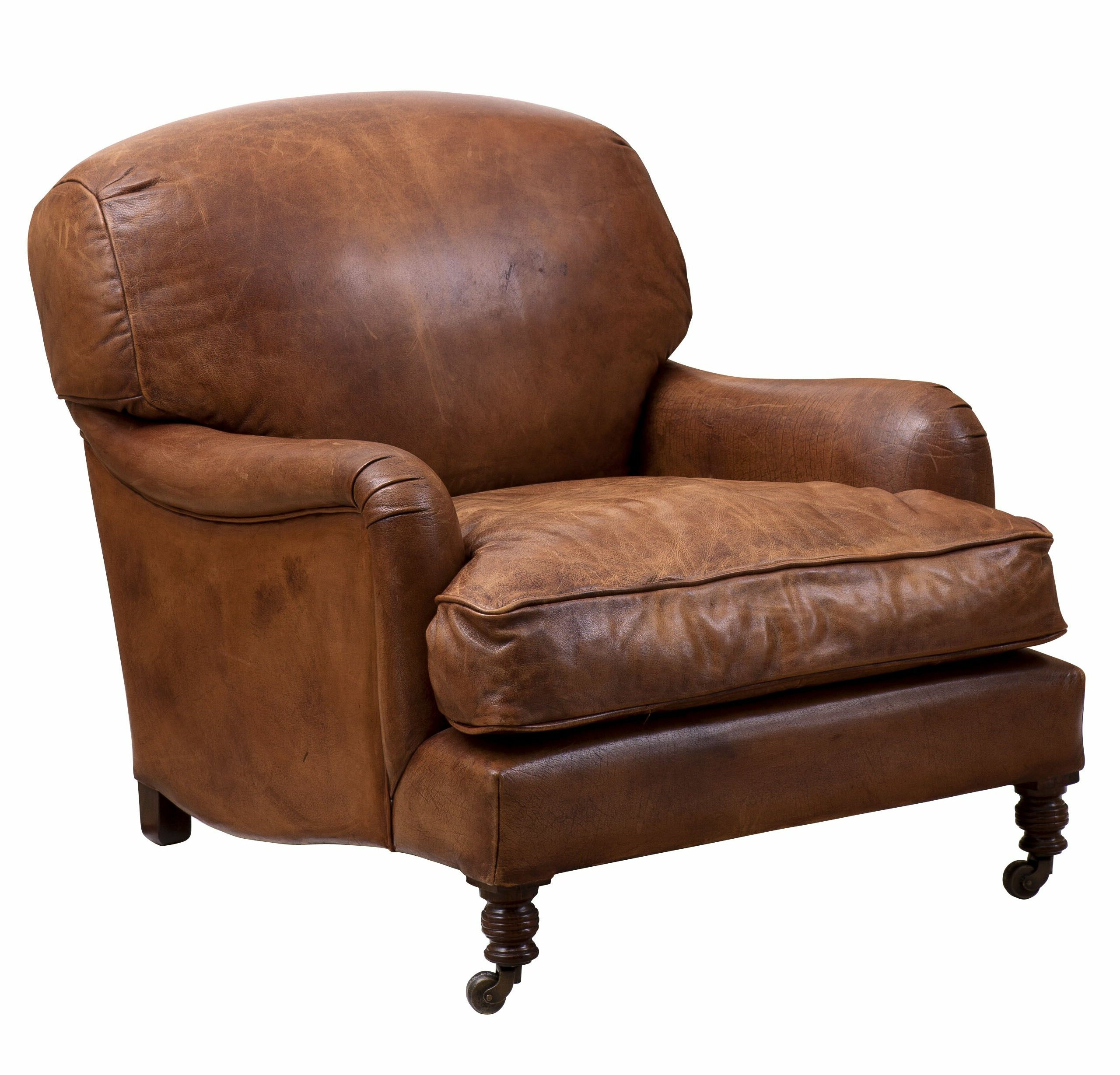 "Most Current Highbury 33"" W Cowhide Club Chair Inside Asbury Club Chairs (View 10 of 20)"