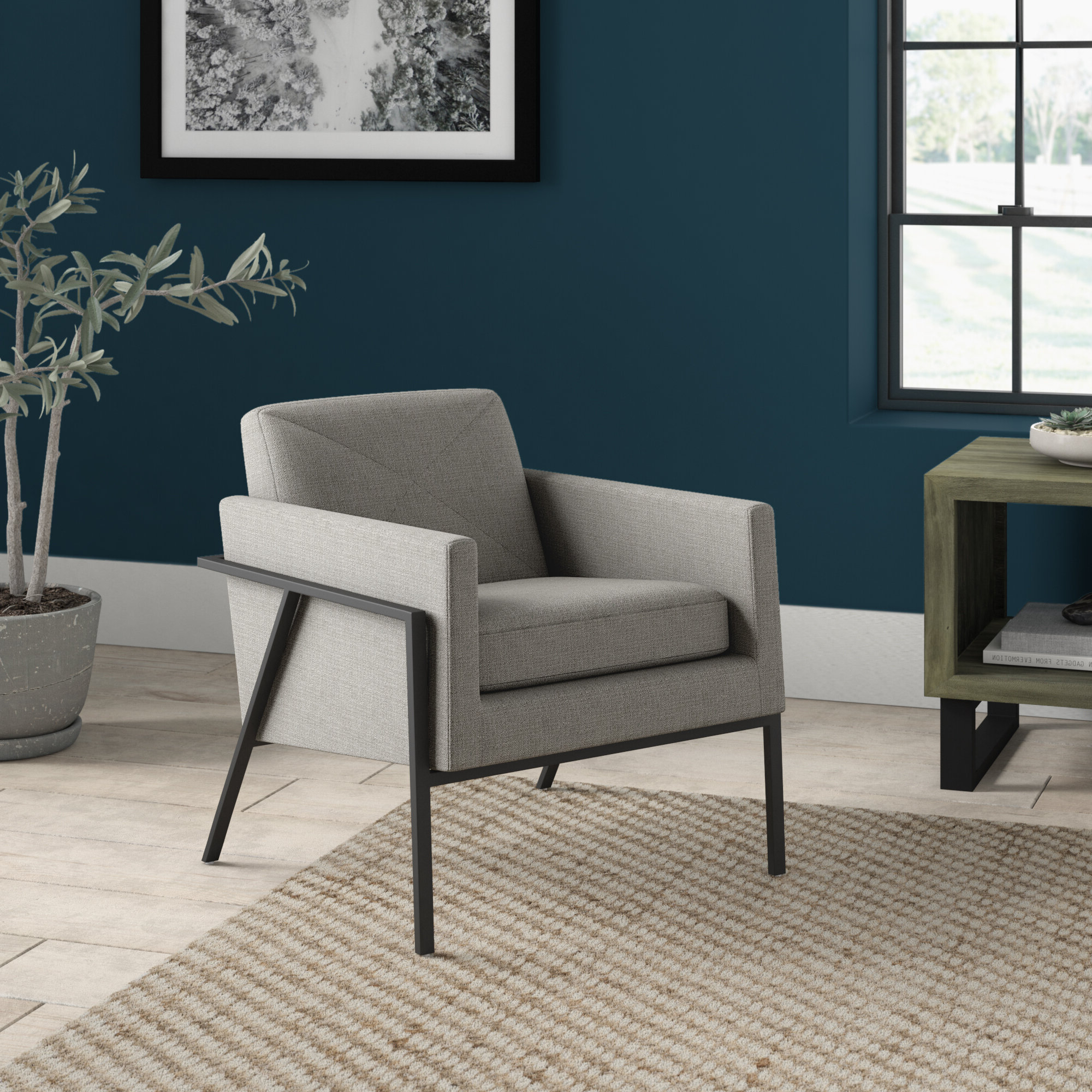 Most Current Lakeville Armchairs In Roseann Armchair (View 4 of 20)
