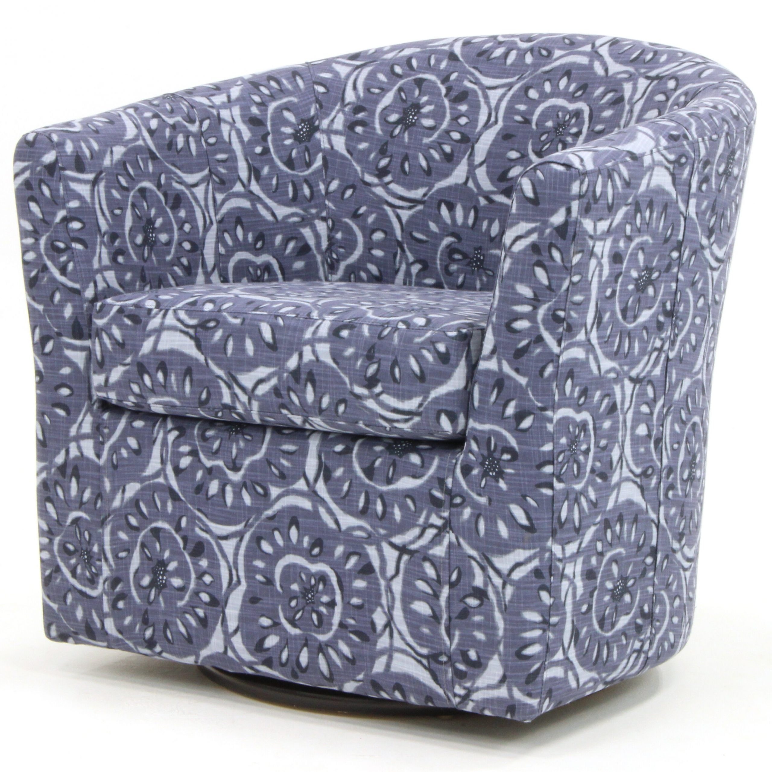 Most Current Molinari Swivel Barrel Chair For Molinari Swivel Barrel Chairs (View 4 of 20)