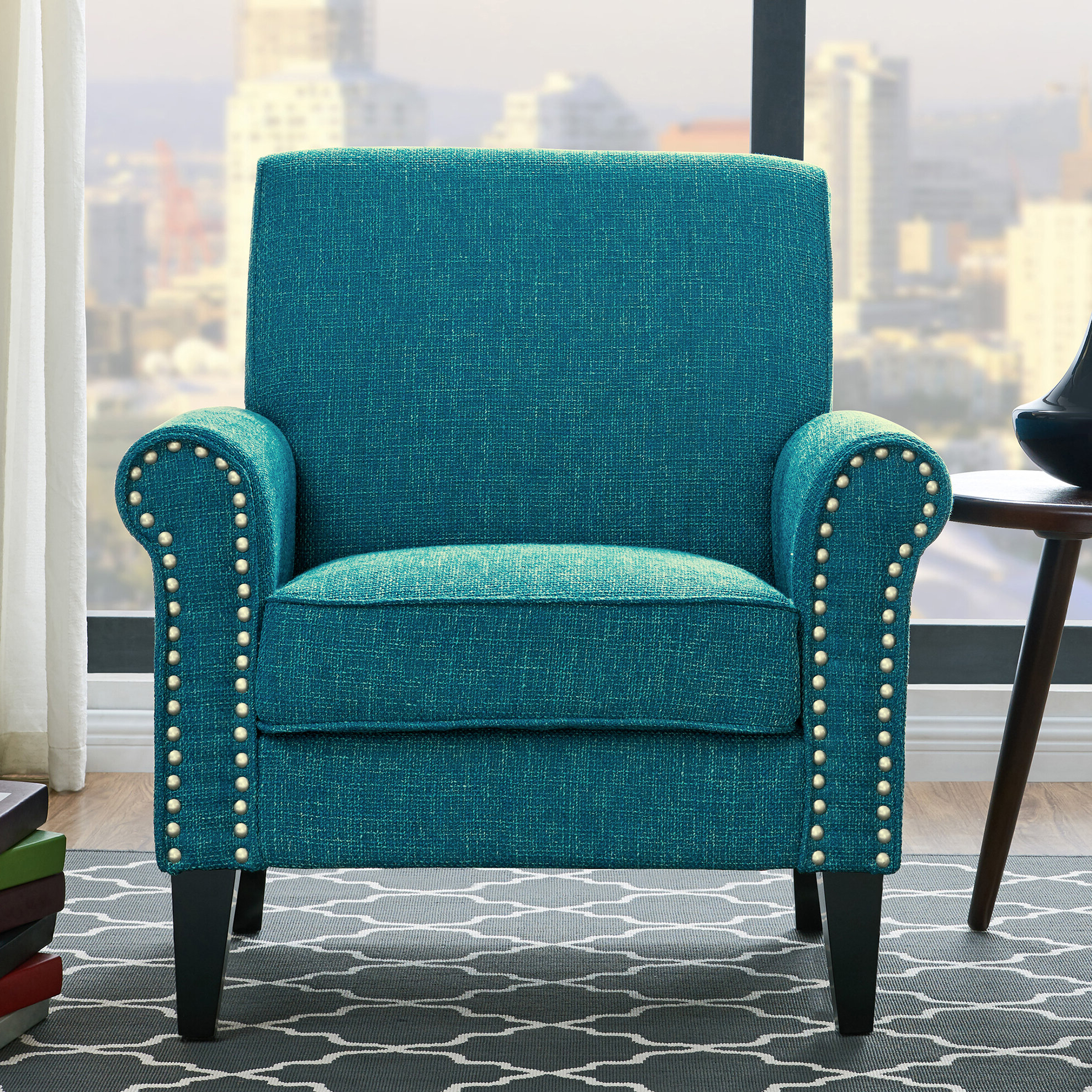 Most Current Pitts Armchairs With Regard To Green Accent Chairs You'll Love In (View 6 of 20)