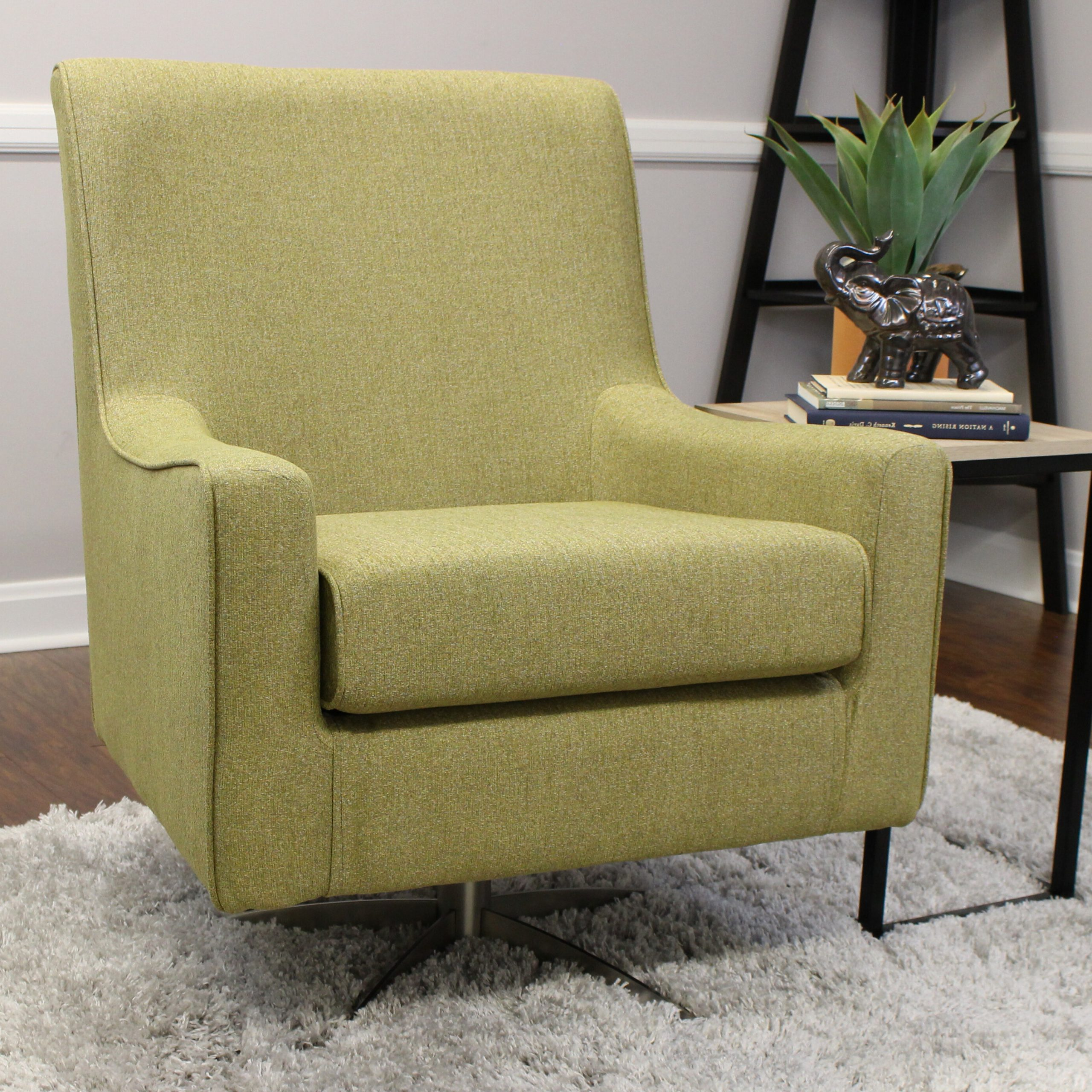 Most Popular Arm Swivel Accent Chairs You'll Love In  (View 7 of 20)