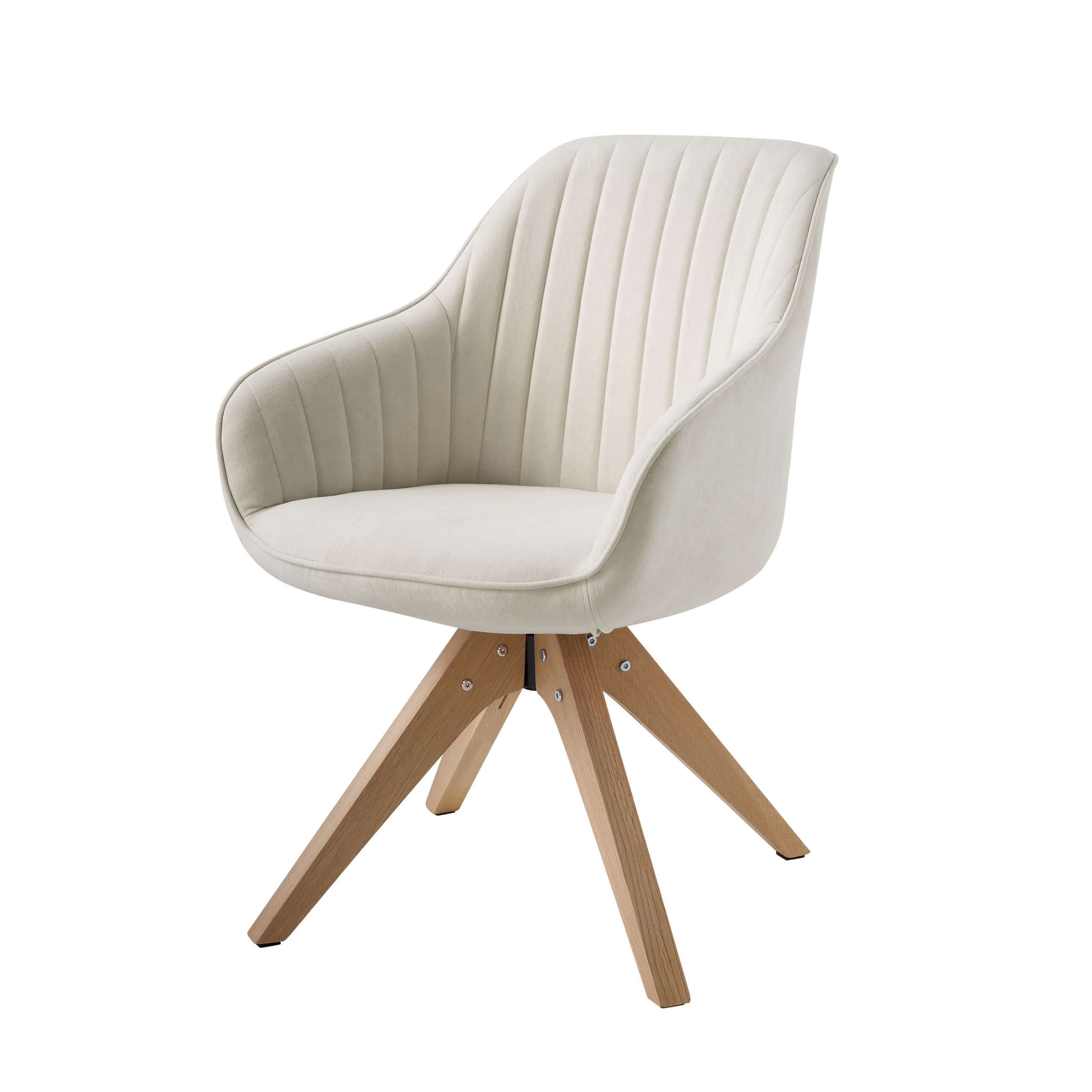 Most Popular Brister Swivel Side Chairs Within Swivel White Accent Chairs You'll Love In (View 5 of 20)