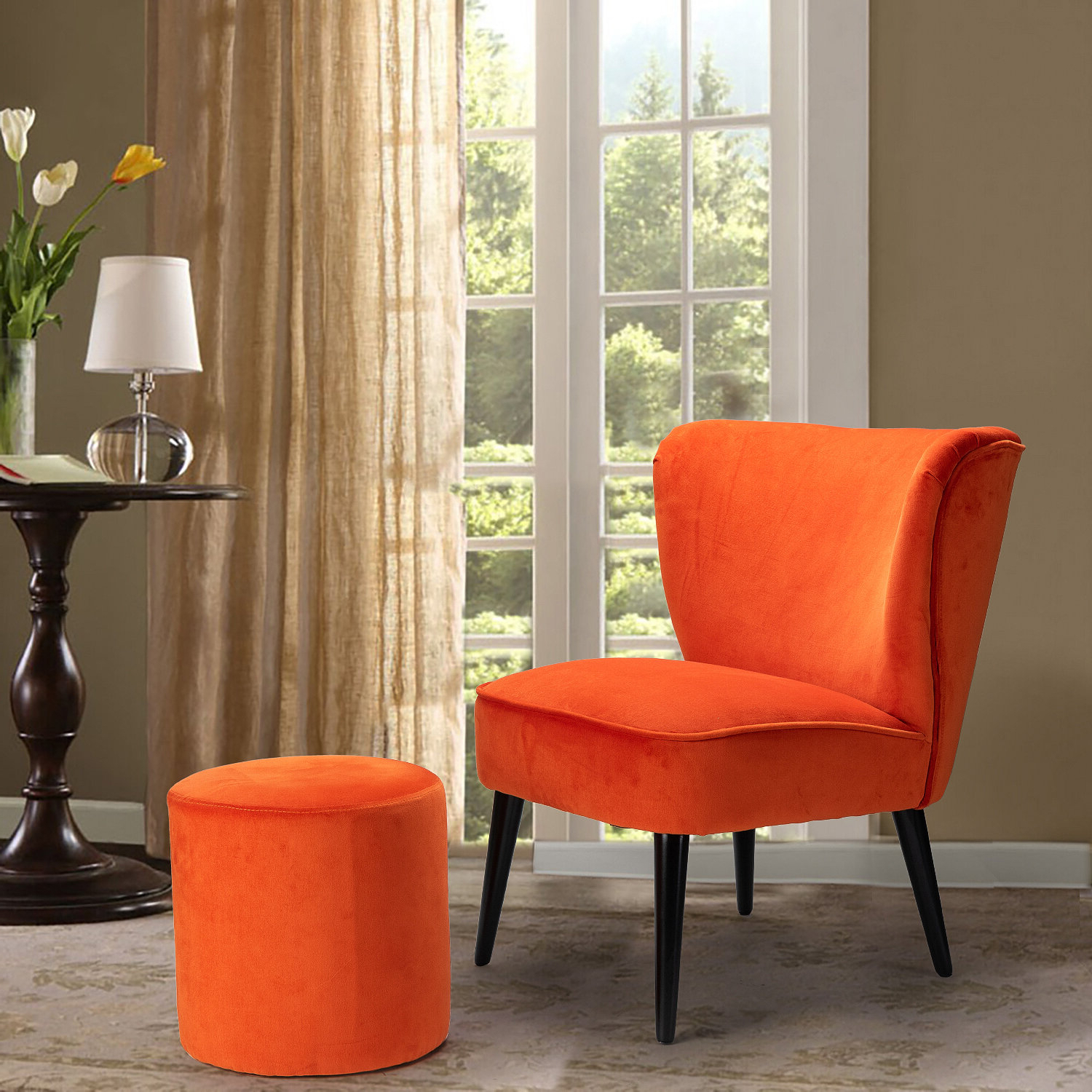 Most Popular Brookneal Slipper Chair And Ottoman For Goodyear Slipper Chairs (View 18 of 20)
