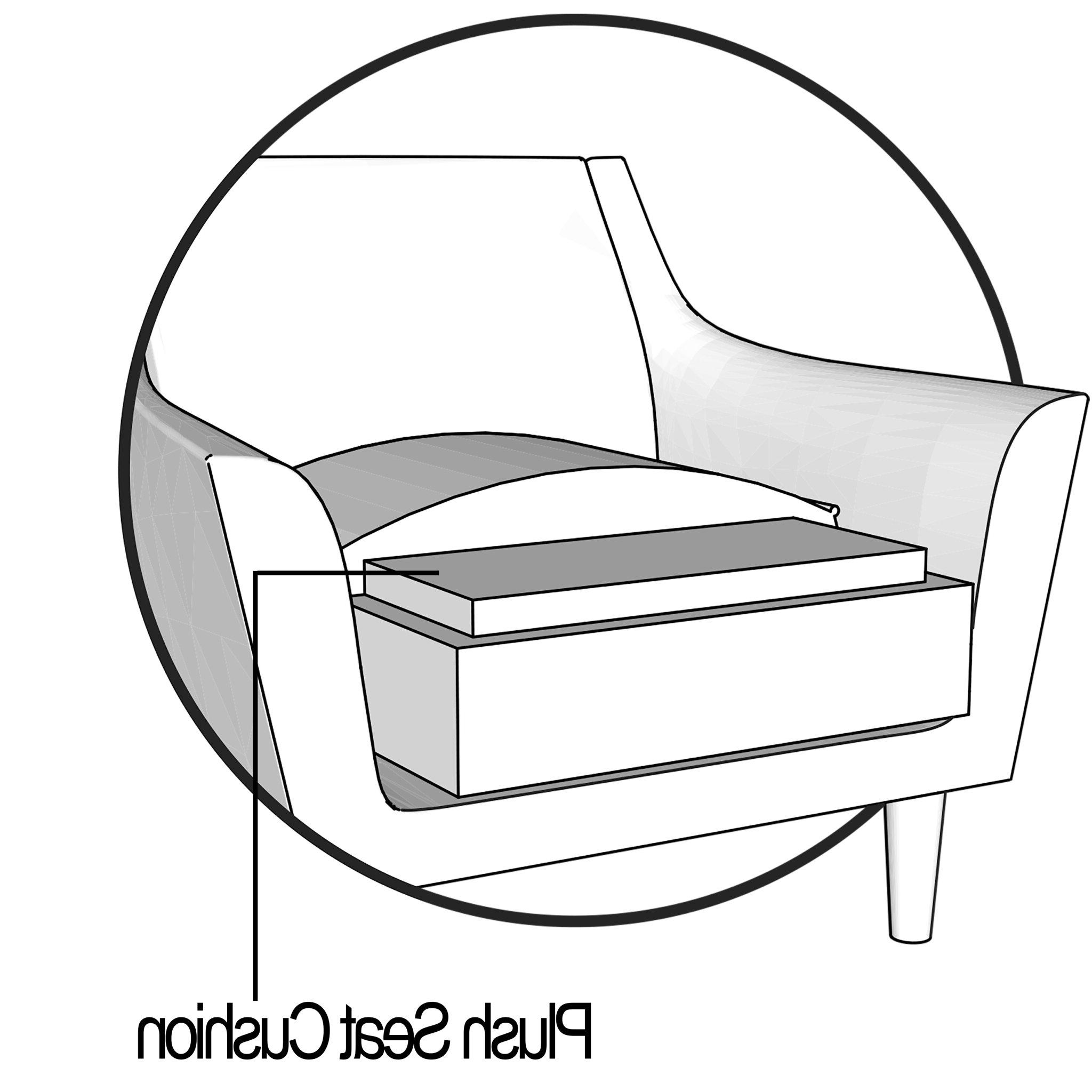 Most Popular Hillary Barrel Chair Inside Briseno Barrel Chairs (View 17 of 20)