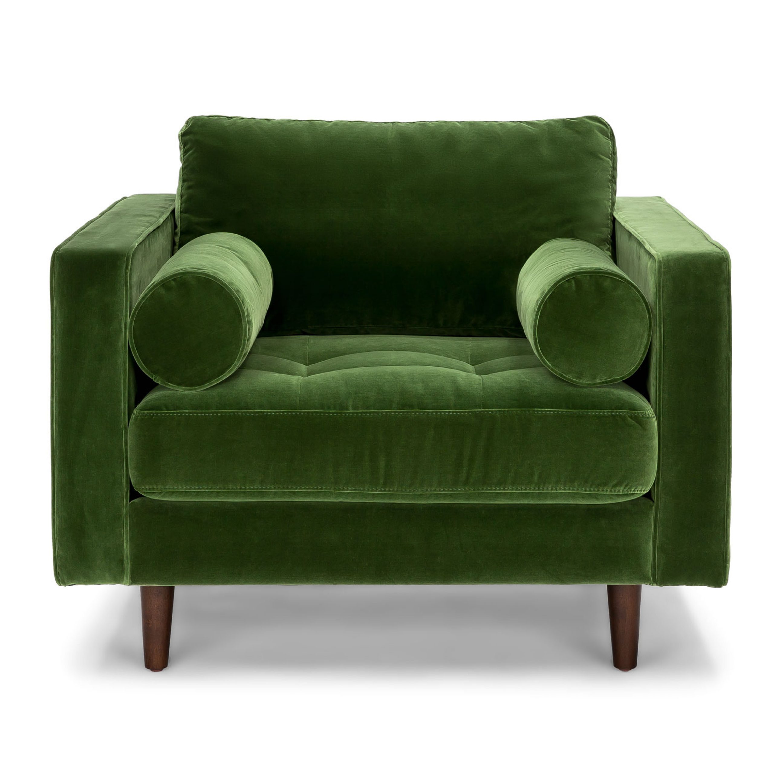 Most Popular Oglesby Armchairs Within Sven Grass Green Chair (View 17 of 20)
