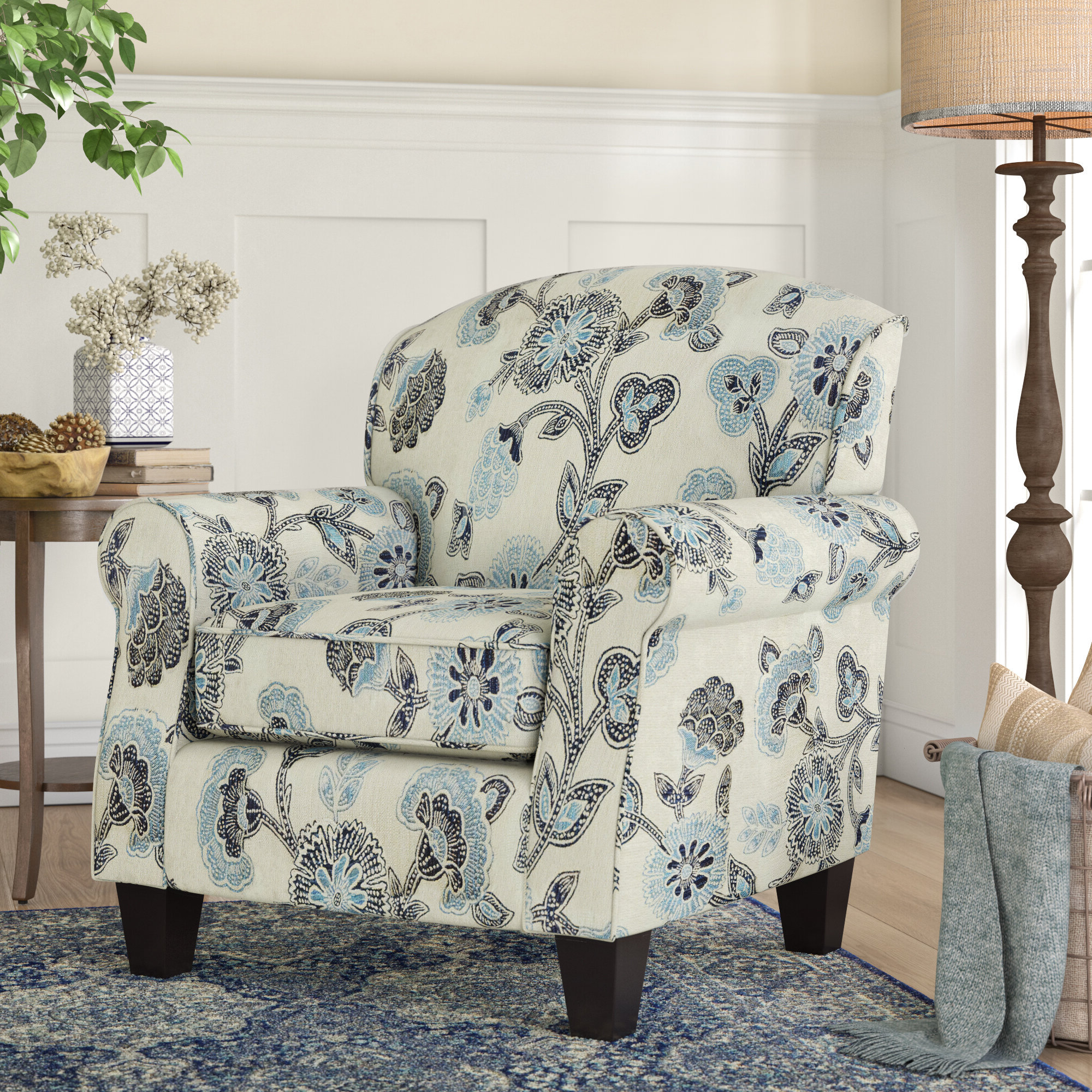 Most Recent Cohutta Armchairs Within Farmhouse & Rustic Assembled Accent Chairs (View 17 of 20)