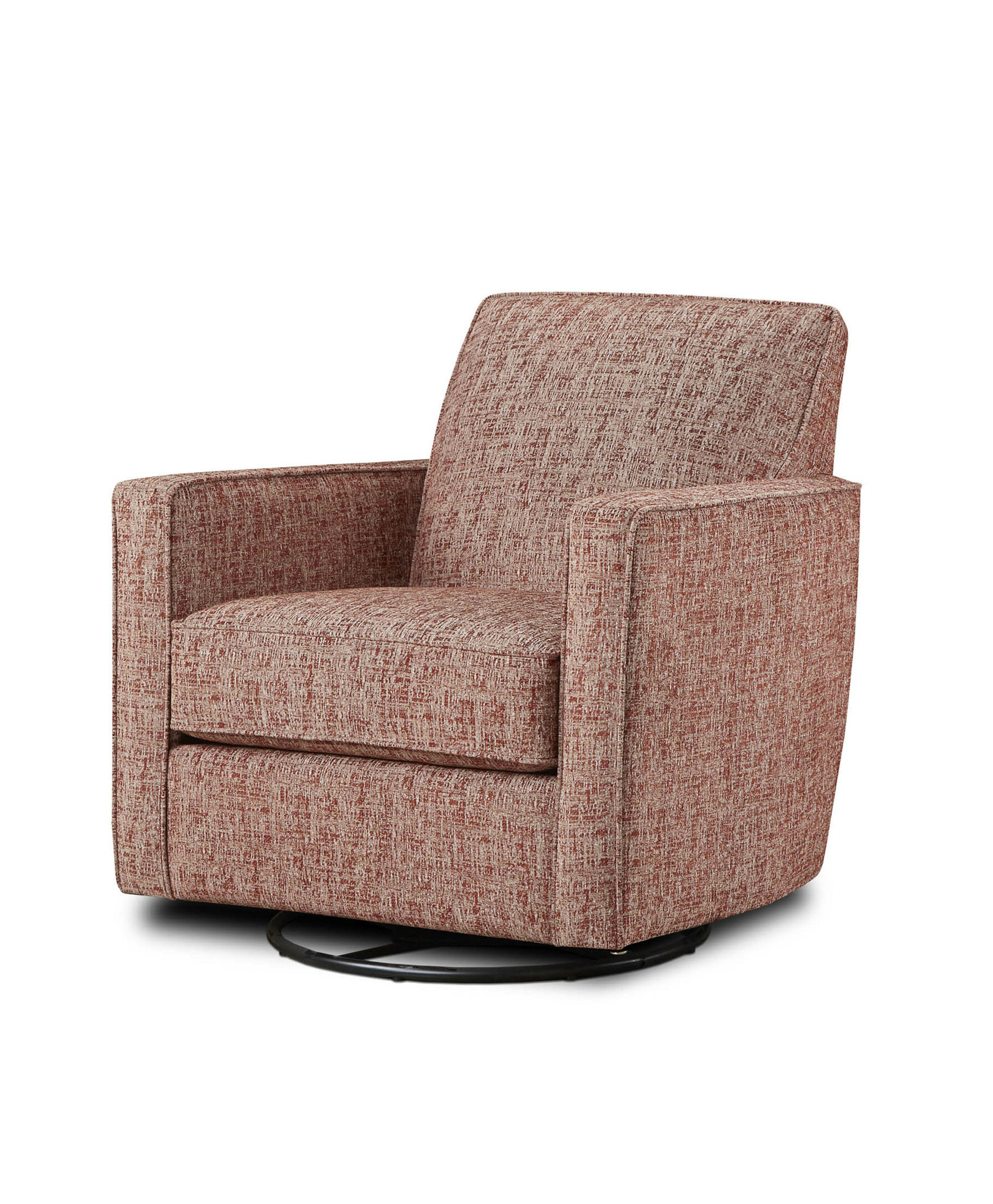 Most Recent Dacia Glider Armchair Intended For Zalina Swivel Armchairs (View 16 of 20)