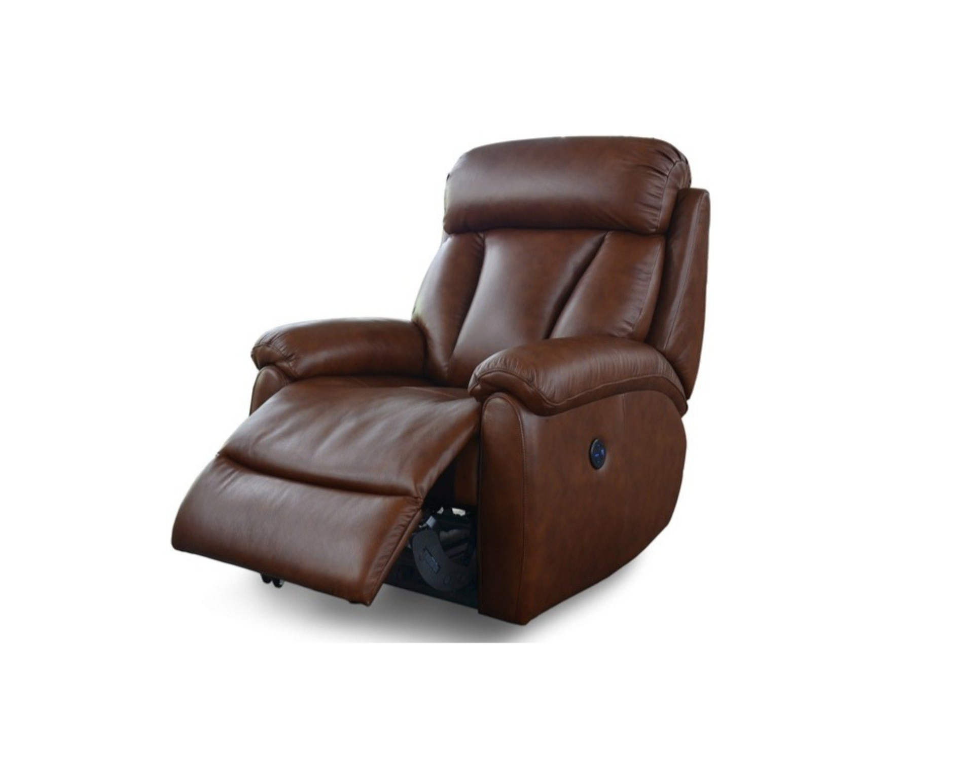 Most Recent Georgina Armchairs (set Of 2) Throughout Georgina Leather Power Recliner Chair (View 12 of 20)