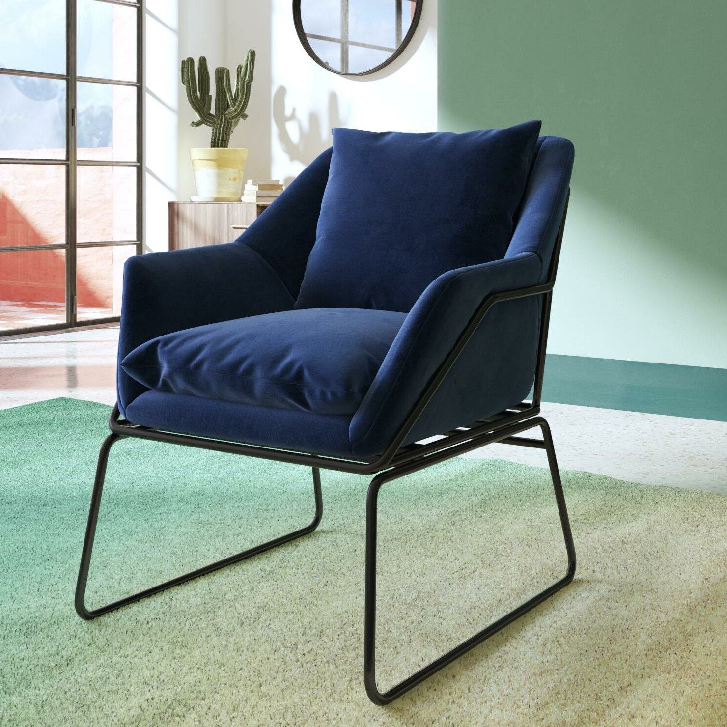 Most Recently Released Alivia Armchair Throughout Aalivia Slipper Chairs (View 4 of 20)