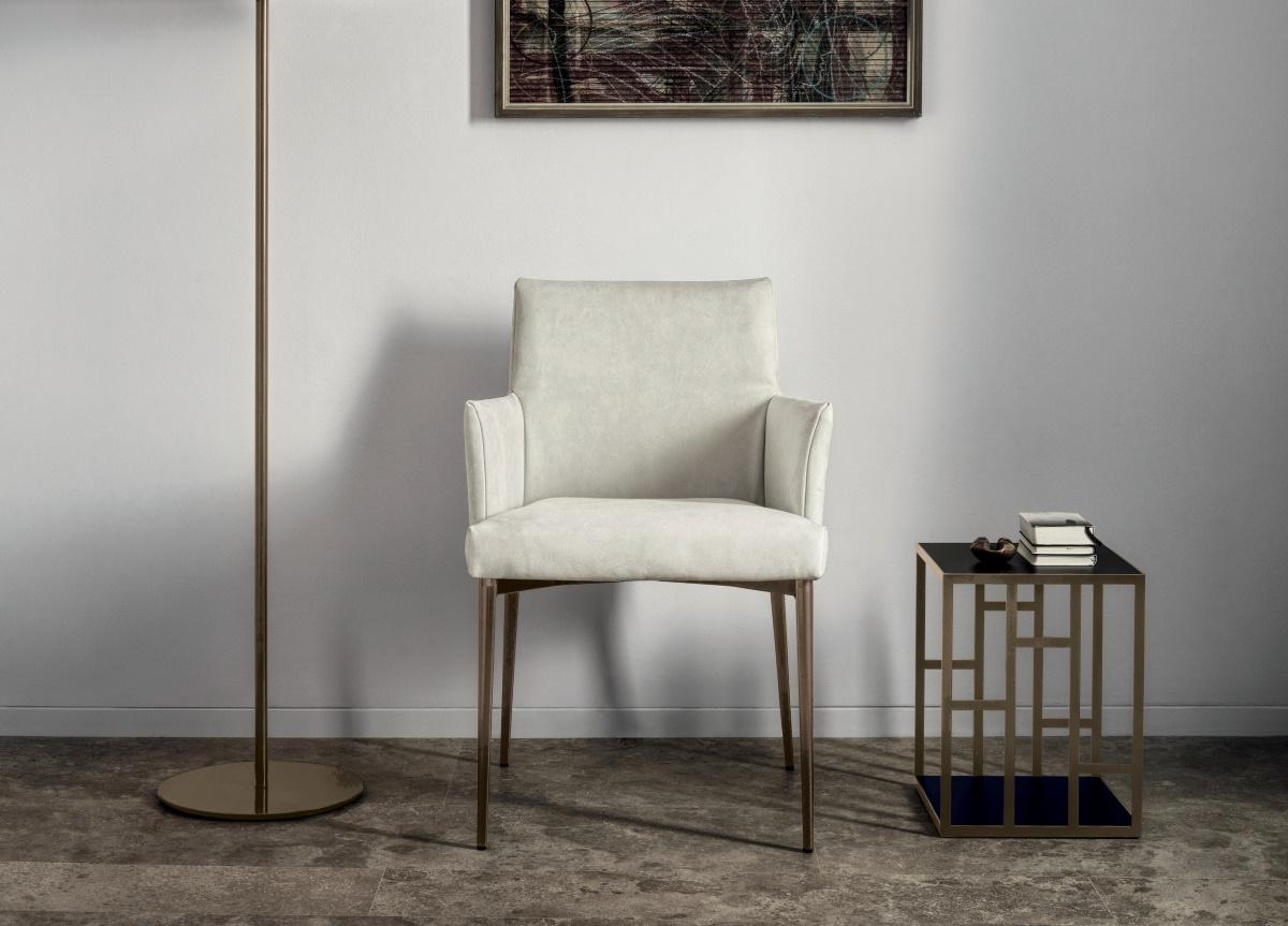 Most Recently Released Almada Armchairs Throughout Bontempi Mila Dining Chair/armchair (View 15 of 20)