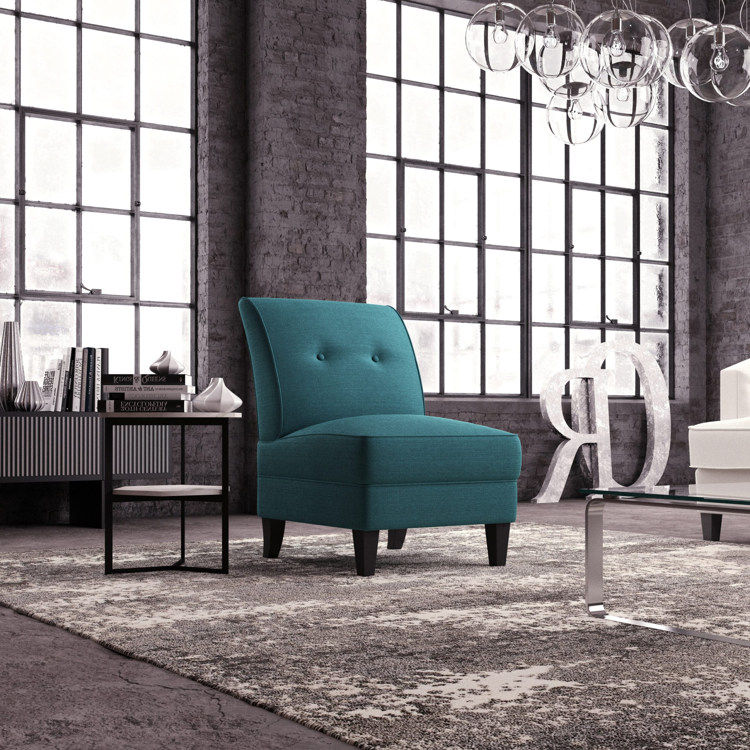 Most Recently Released Blue Slipper Accent Chairs You'll Love In (View 7 of 20)
