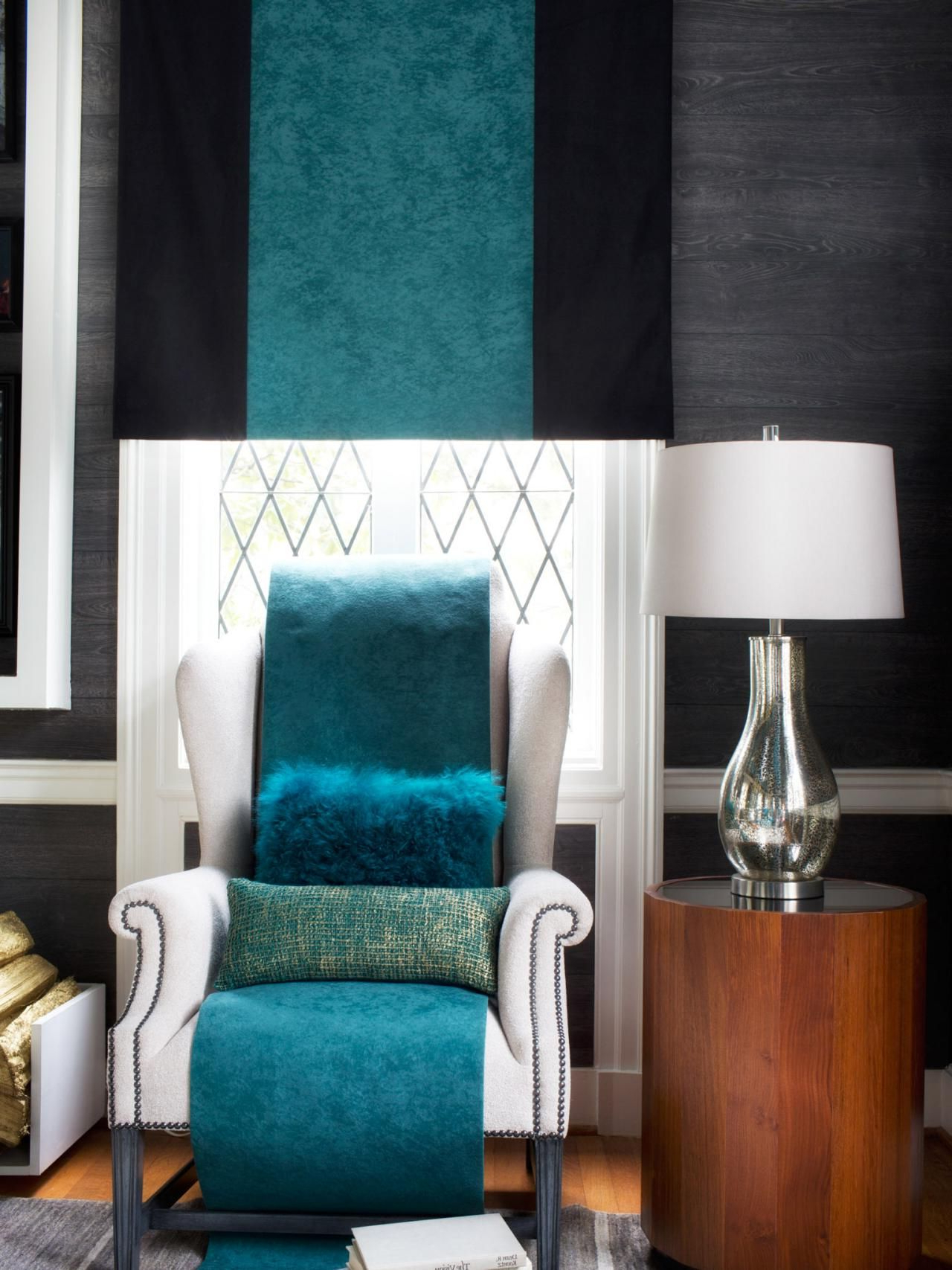 Most Recently Released Gallin Wingback Chairs Pertaining To Design Trend: Decorating With Blue (View 8 of 20)
