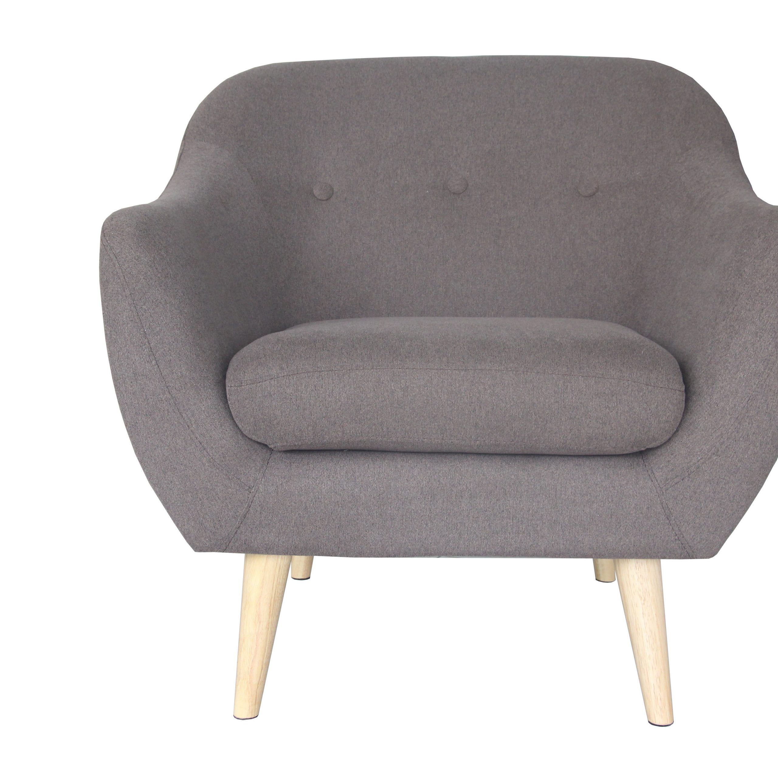 """Most Recently Released Hanner Polyester Armchairs In Lachine 32"""" W Armchair (View 20 of 20)"""