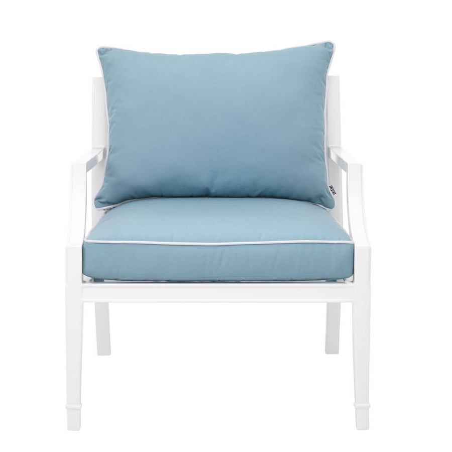 Most Recently Released Hiltz Armchairs Within Eichholtz Chair Bella Vista White Finish (View 19 of 20)