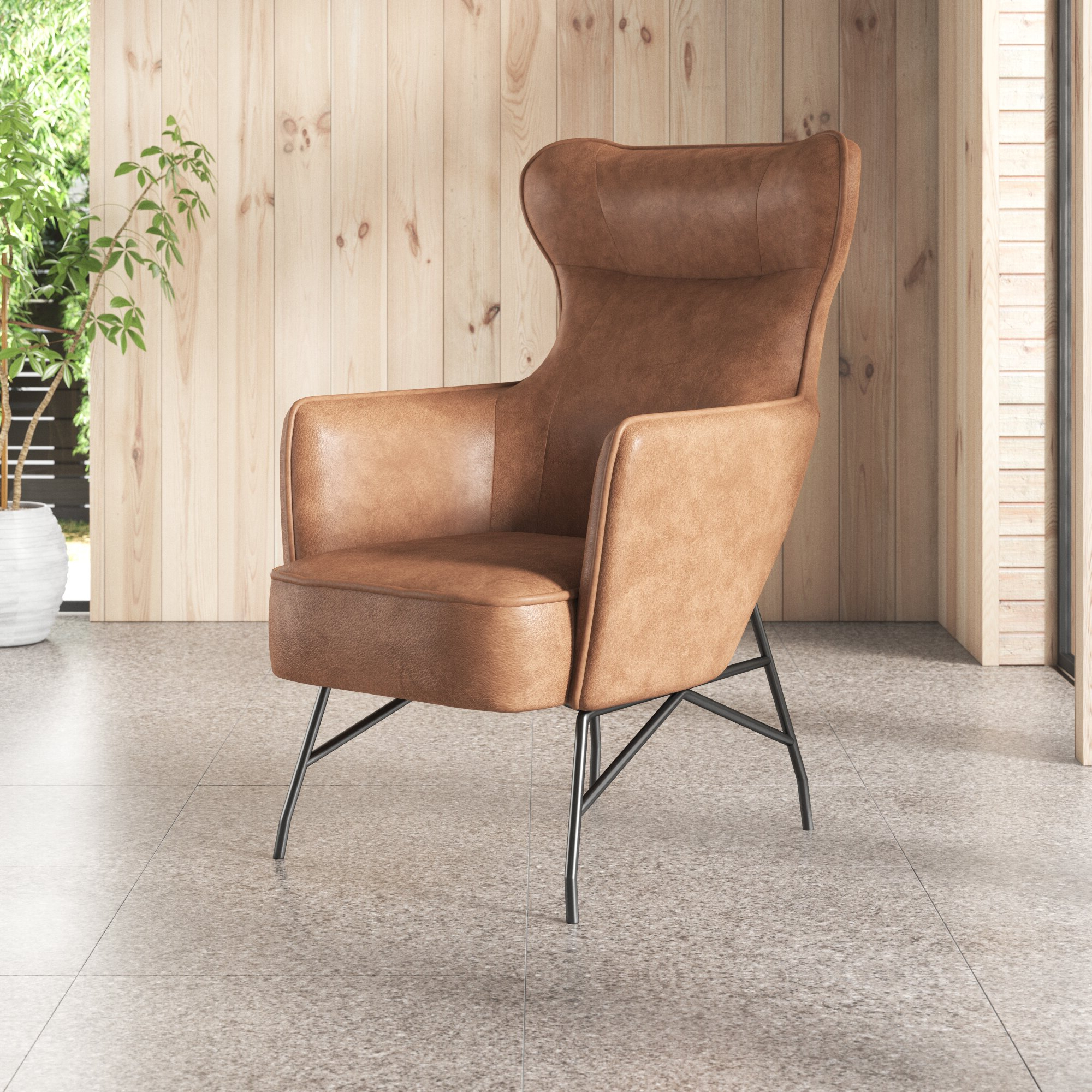 Most Recently Released Jill Faux Leather Armchairs Throughout Jill (View 3 of 20)