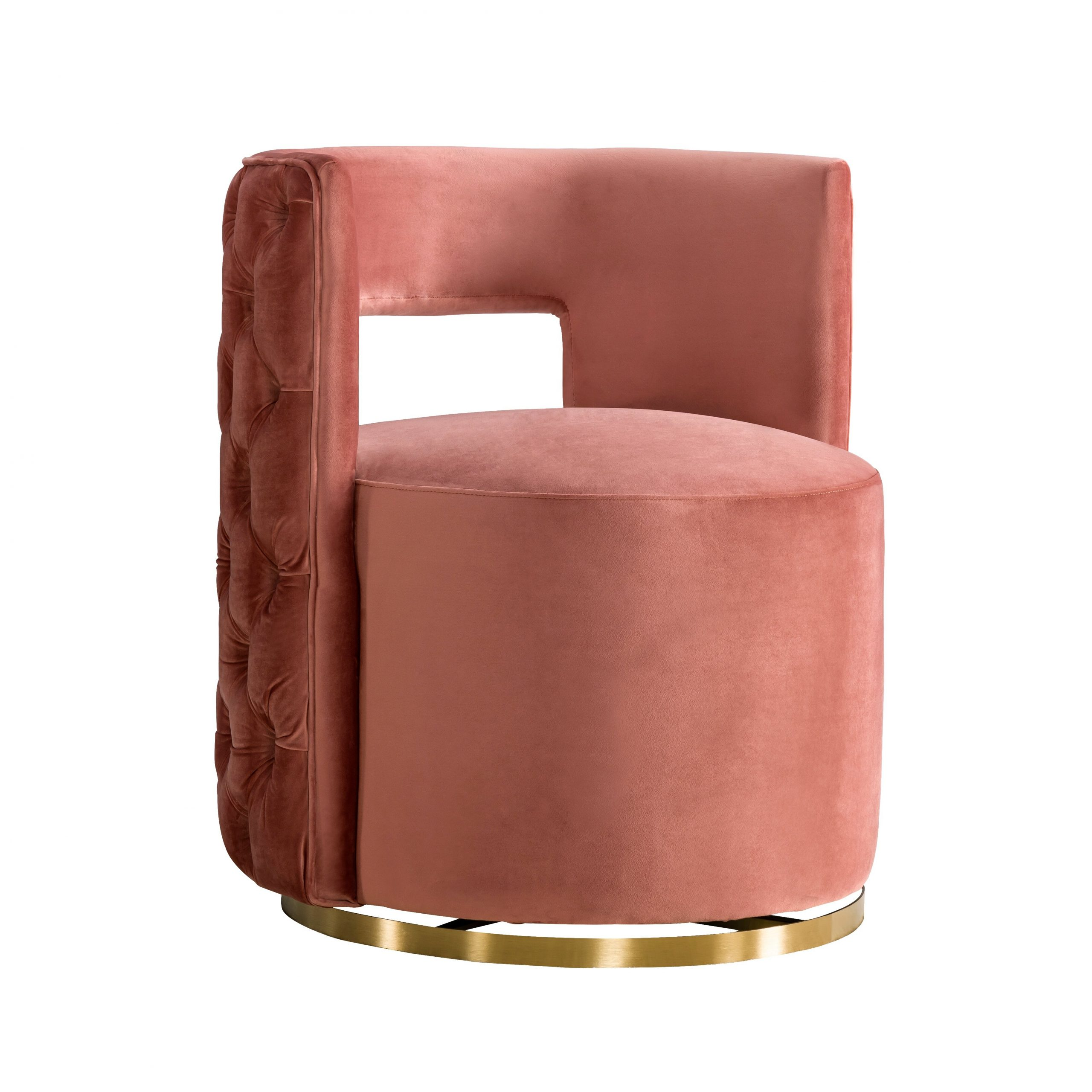 Most Recently Released Navin Barrel Chair Intended For Navin Barrel Chairs (View 2 of 20)