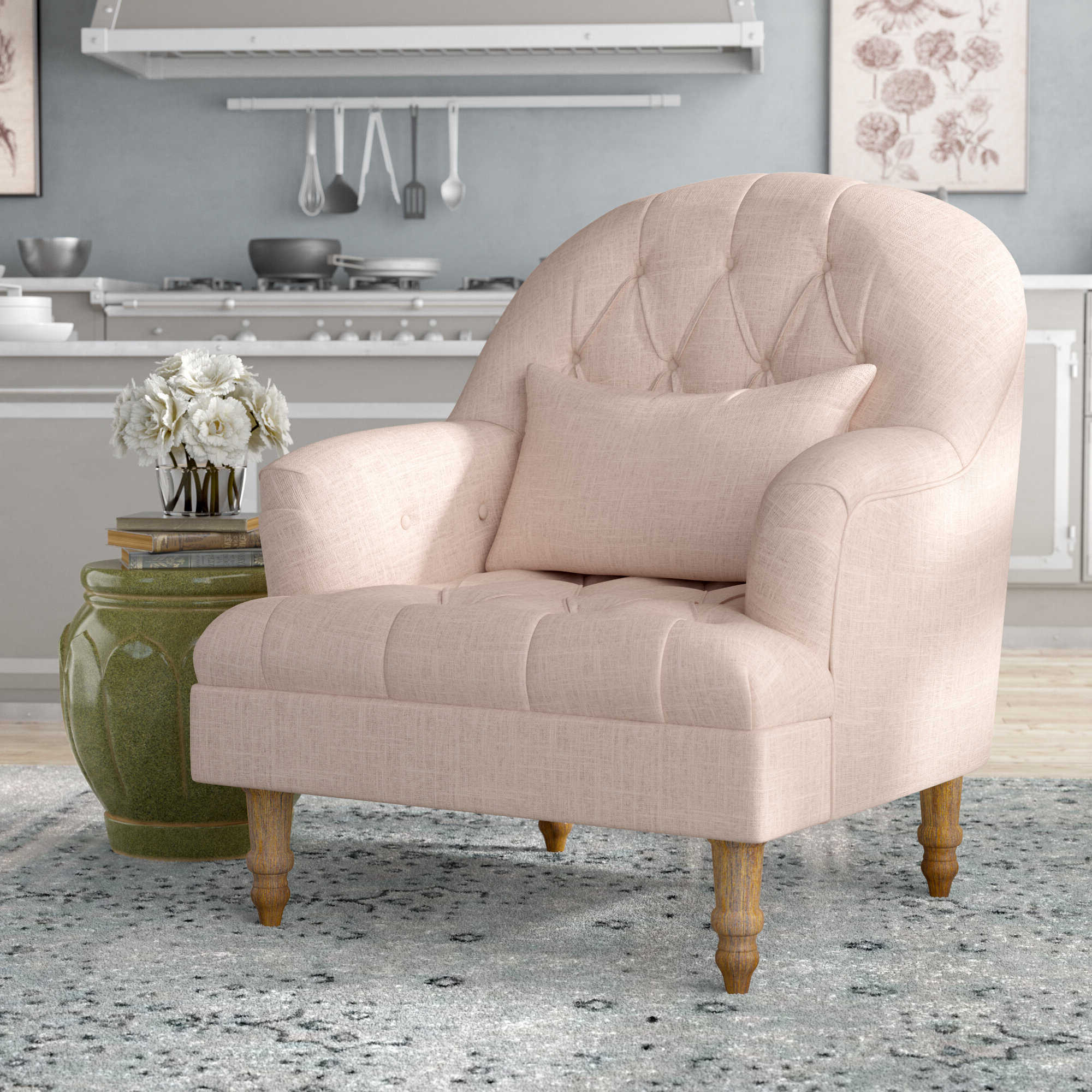 Most Recently Released Palafox Armchair Within Belz Tufted Polyester Armchairs (View 19 of 20)