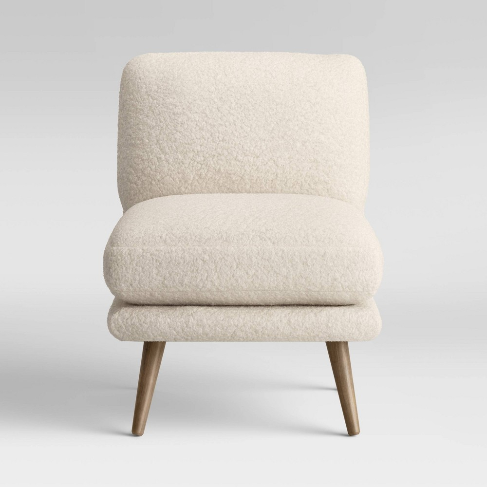 Most Up To Date Biggerstaff Polyester Blend Armchairs With Harper Faux Fur Slipper Chair Sherpa – Project 62 – Target (View 9 of 20)