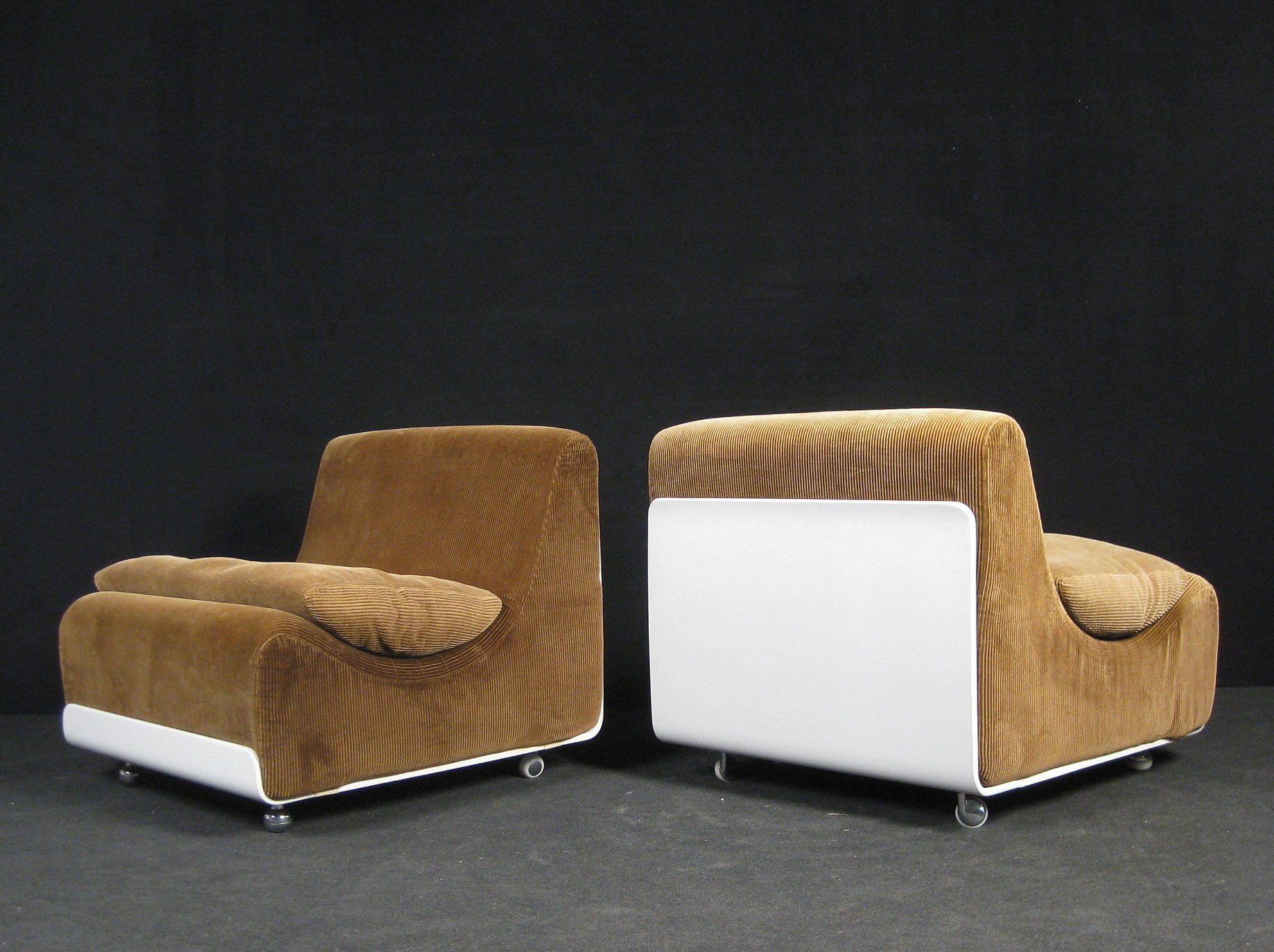 Most Up To Date Nadene Armchairs In Image Result For Luigi Colani; 'orbis' Lounge Chairs For Cor (View 20 of 20)