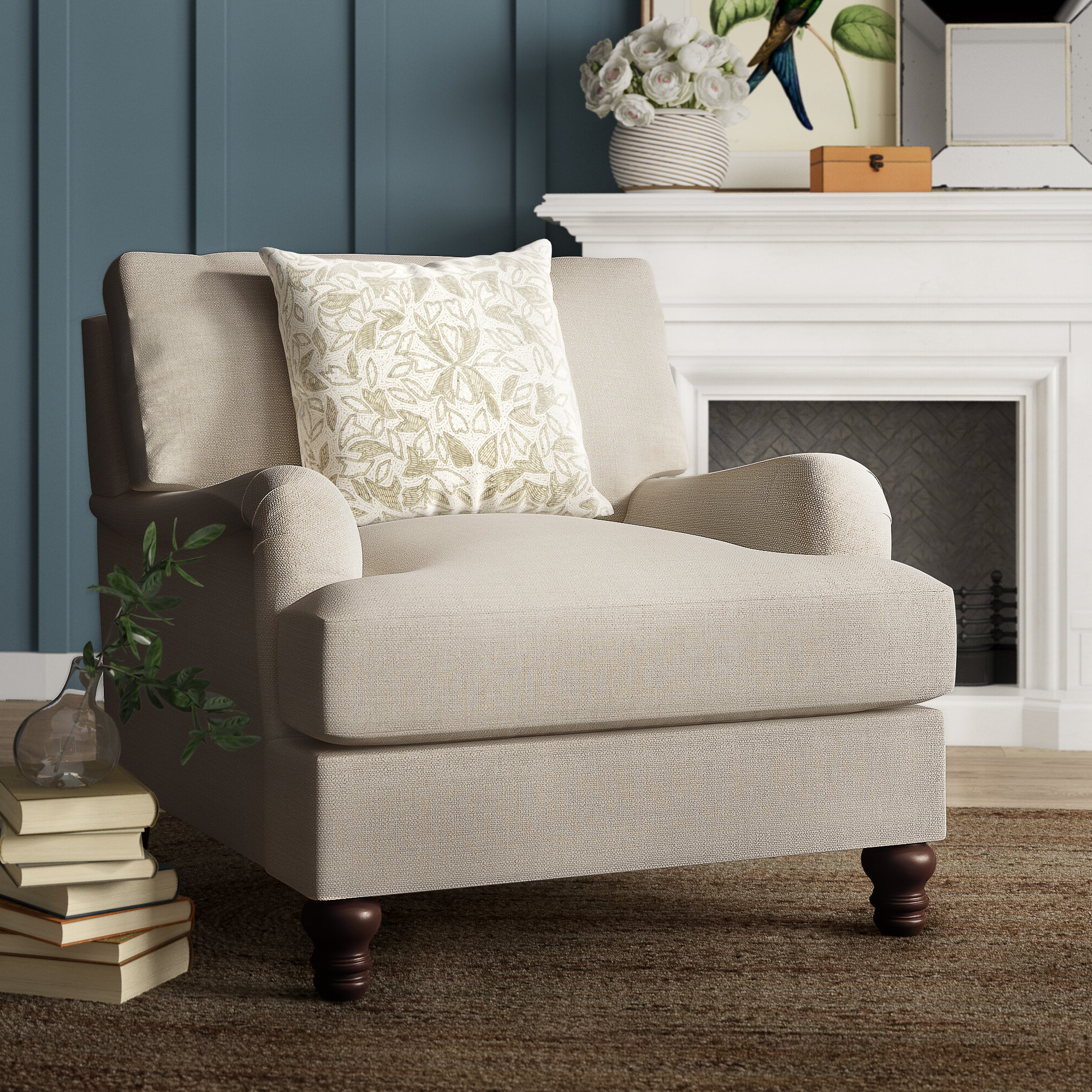 Most Up To Date Samuel Armchair Within Ronald Polyester Blend Armchairs (View 11 of 20)