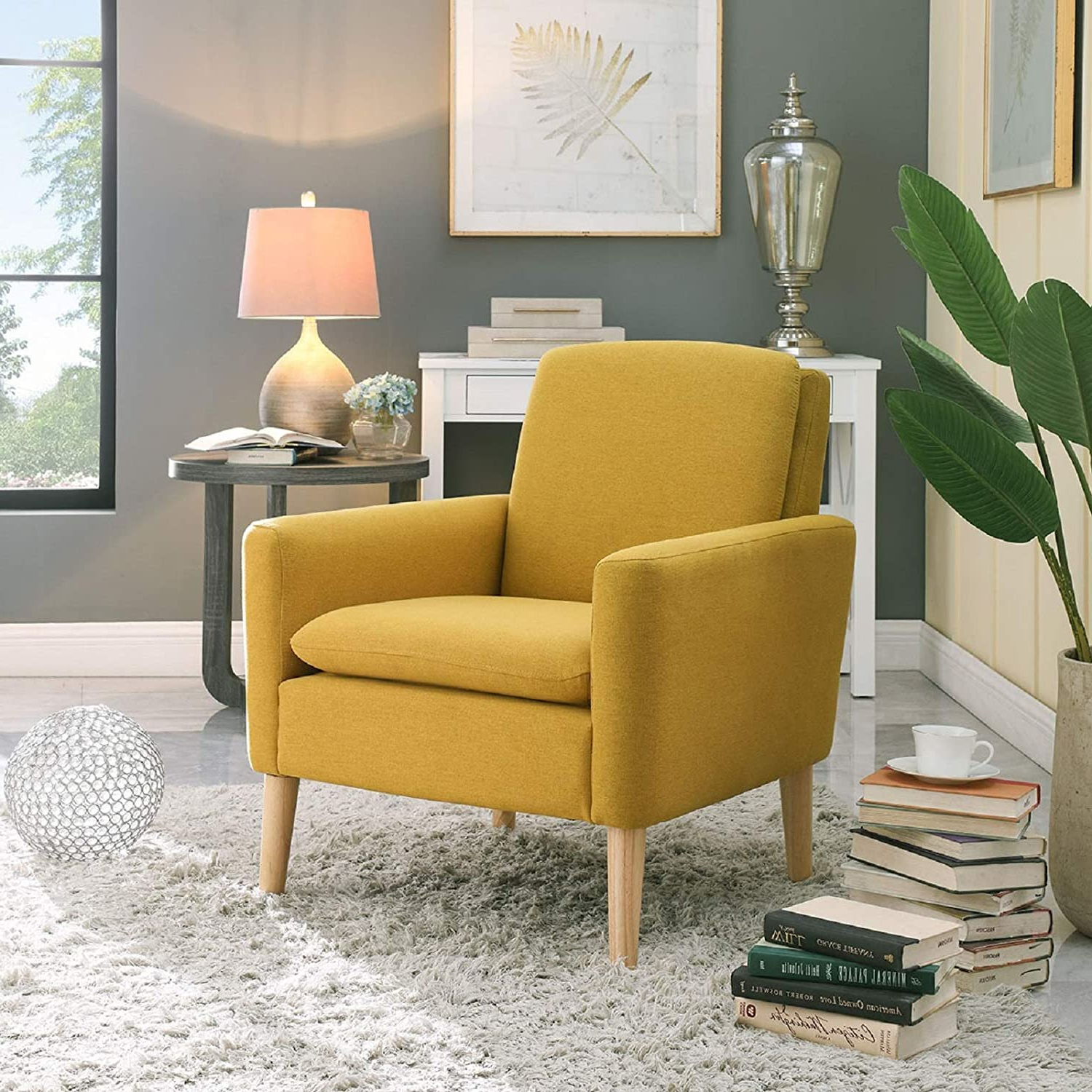 Most Up To Date Small Accent Chairs Under $150 You'll Love In 2020 Inside Biggerstaff Polyester Blend Armchairs (View 2 of 20)