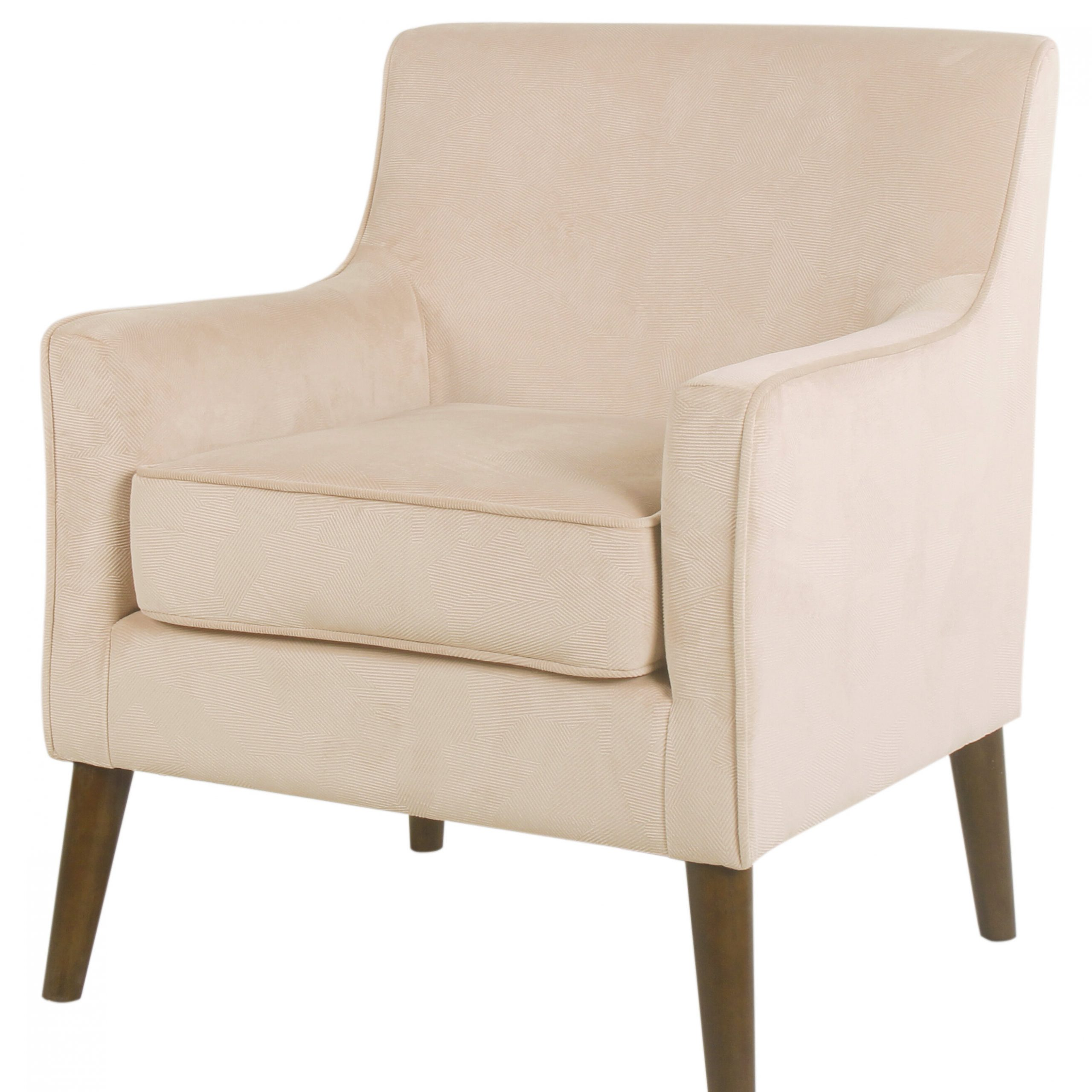 "Myia 26"" W Polyester Armchair Regarding Preferred Leia Polyester Armchairs (View 13 of 20)"