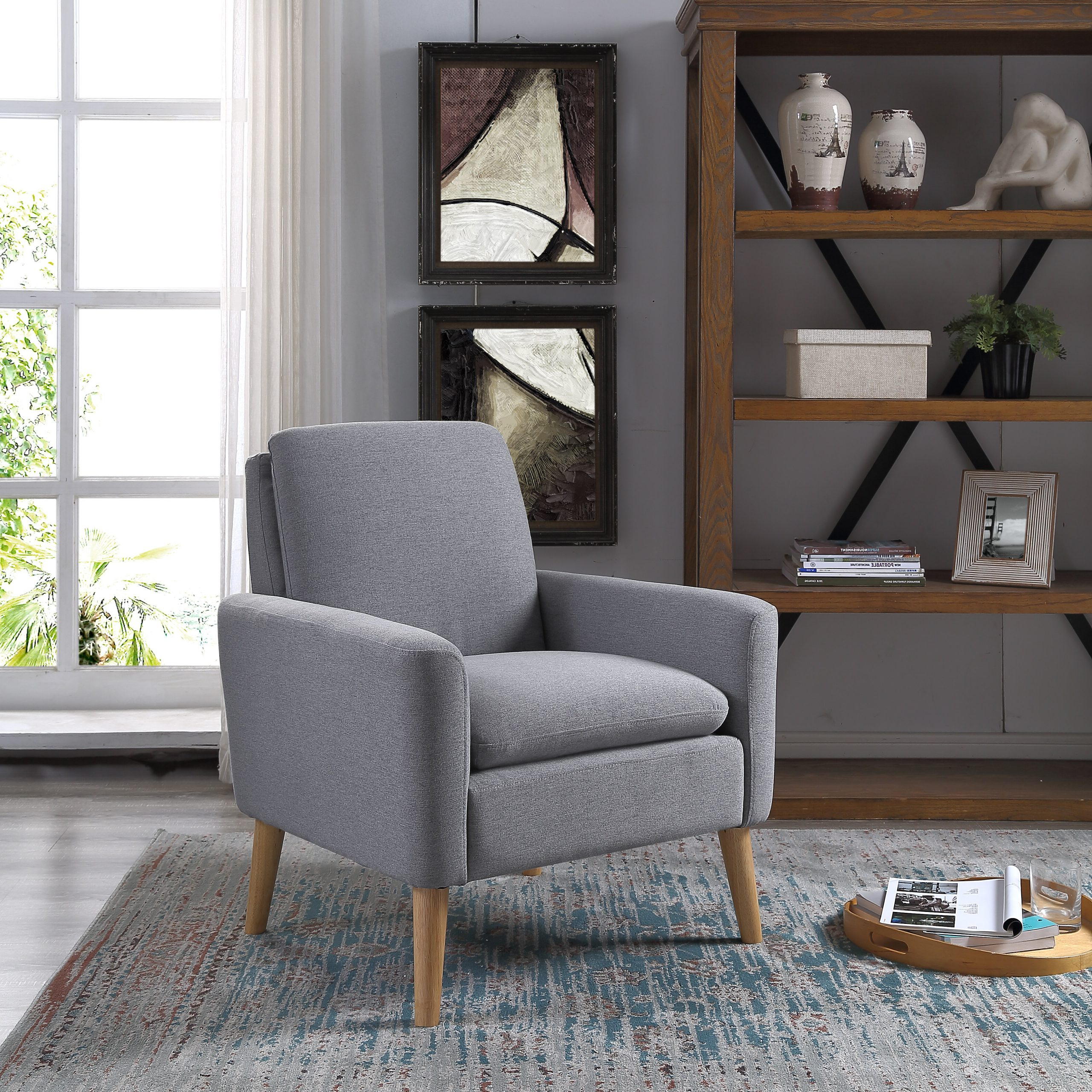 """Nadene 29"""" W Armchair Within Widely Used Nadene Armchairs (View 2 of 20)"""