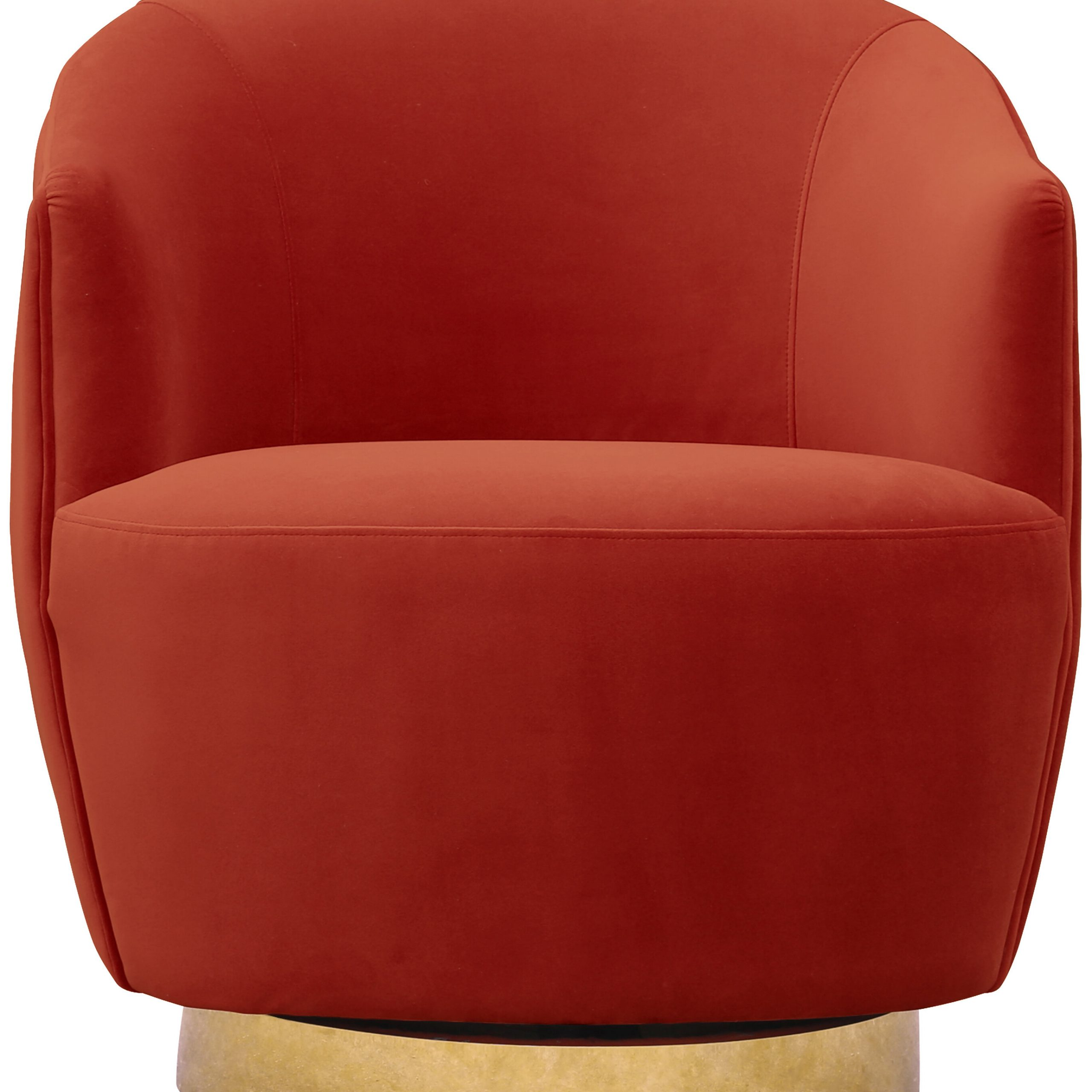 Navin Barrel Chairs Intended For Well Known Adali Channel Tufted Swivel Barrel Chair (View 5 of 20)