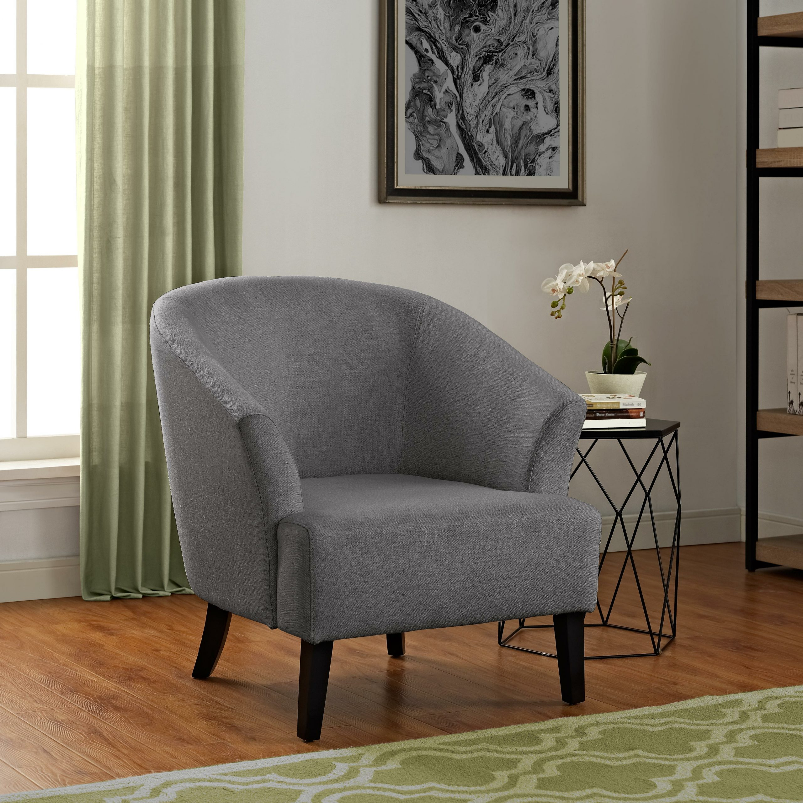 Navin Barrel Chairs Pertaining To Well Known Artesia Barrel Chair (View 9 of 20)