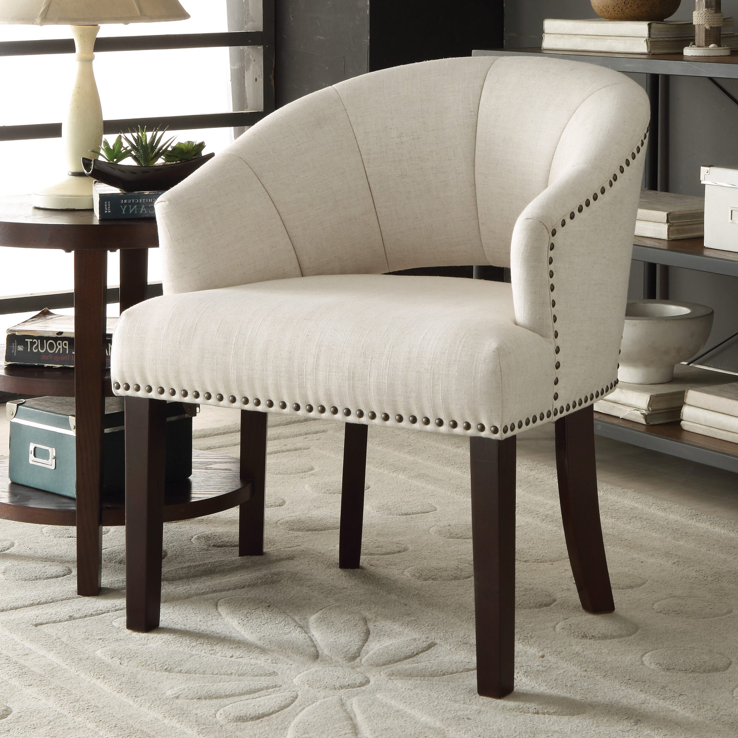 """Navin Barrel Chairs Regarding Well Liked Crown Heights 20"""" Barrel Chair (View 15 of 20)"""