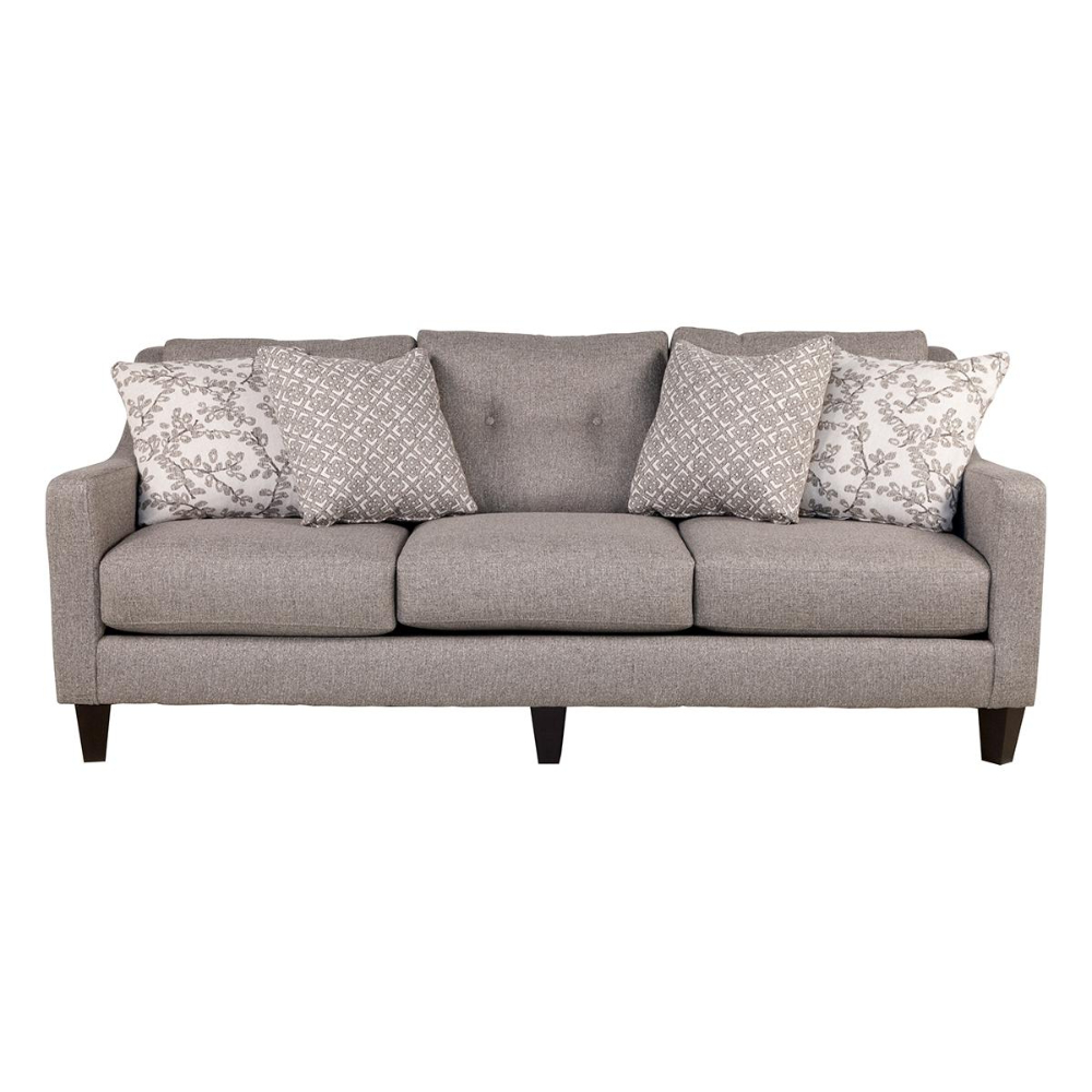 Nebraska Furniture Mart In Throughout Recent Starks Tufted Fabric Chesterfield Chair And Ottoman Sets (View 14 of 20)