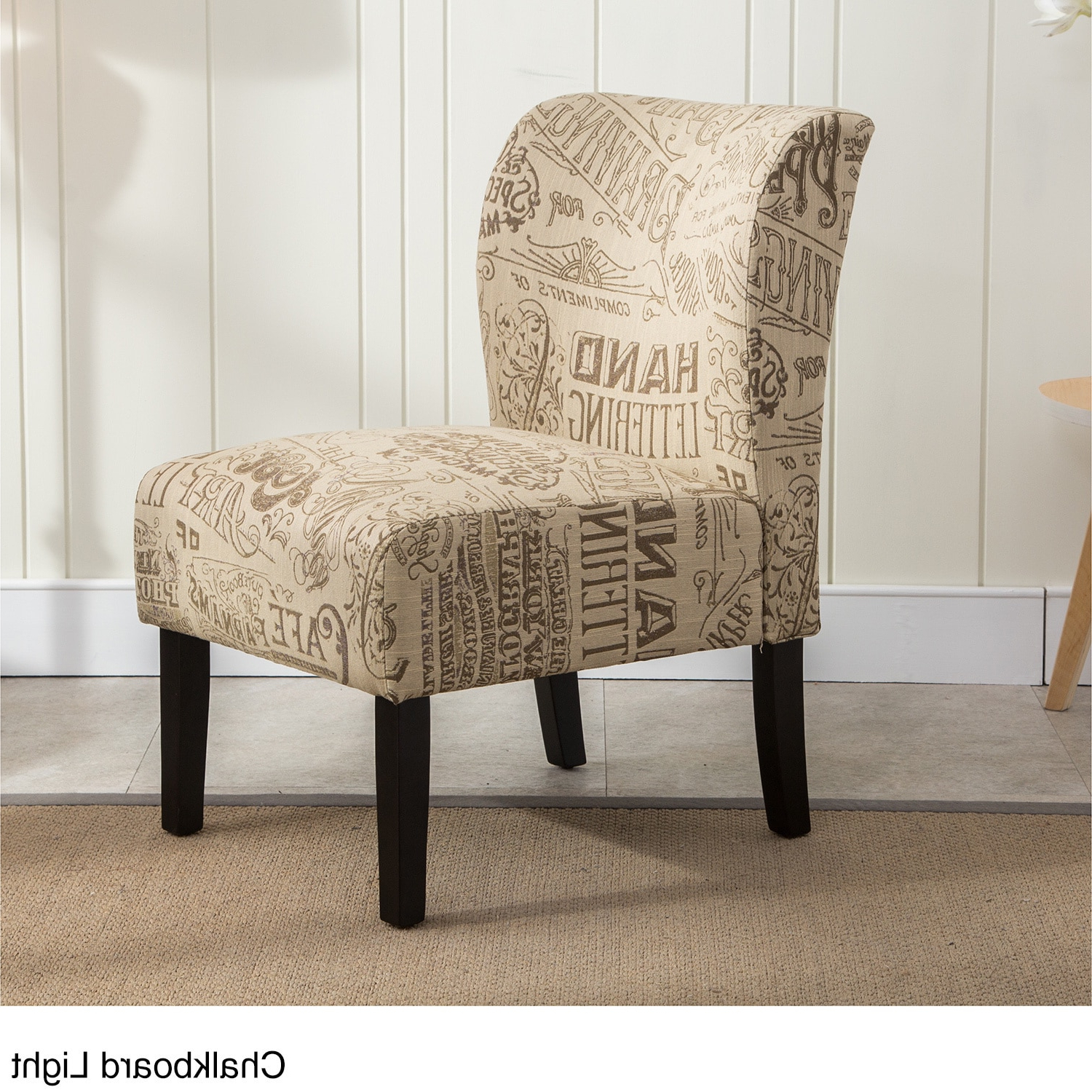 Newest Goodyear Slipper Chairs Within The Curated Nomad Pavilion Upholstered Armless Accent Slipper Chair – Walmart (View 19 of 20)