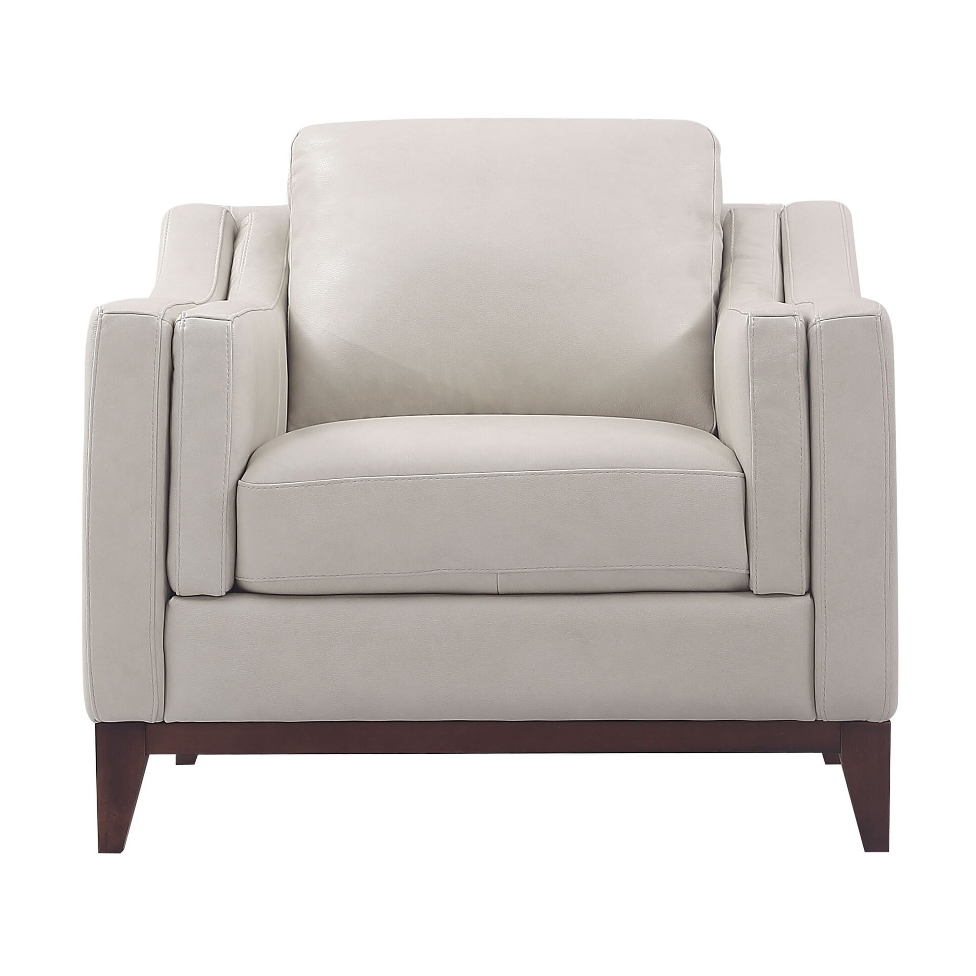 Newest Lydia Top Grain Leather Club Chair Throughout Sheldon Tufted Top Grain Leather Club Chairs (View 7 of 20)