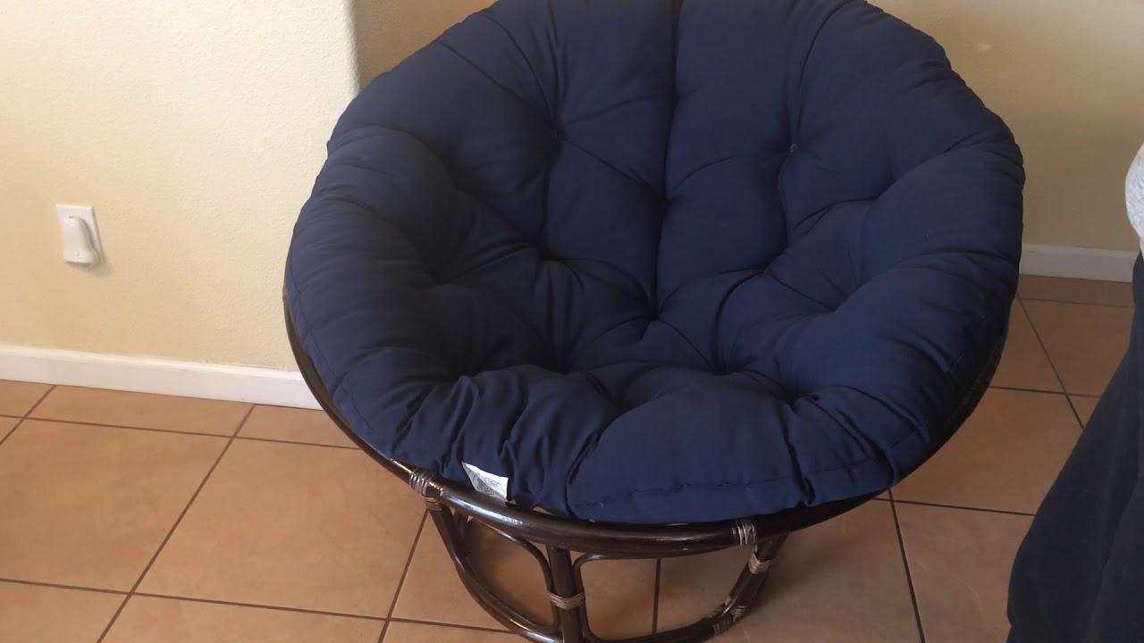 Newest Orndorff Tufted Papasan Chairs With International Caravan Papasan Chair (View 18 of 20)