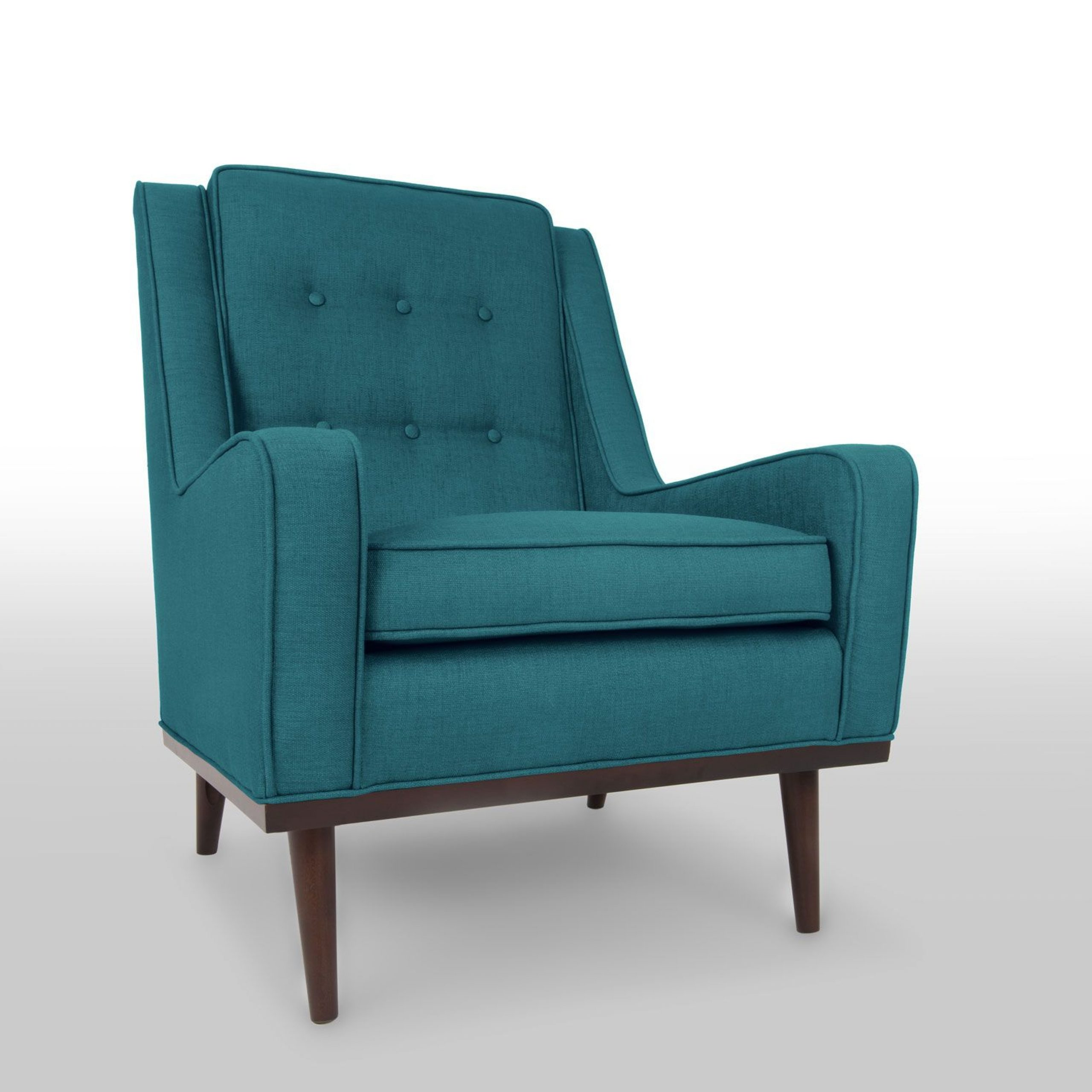 Nina Ocean Teal Armchair – Chairs & Stools – Bryght (View 8 of 20)