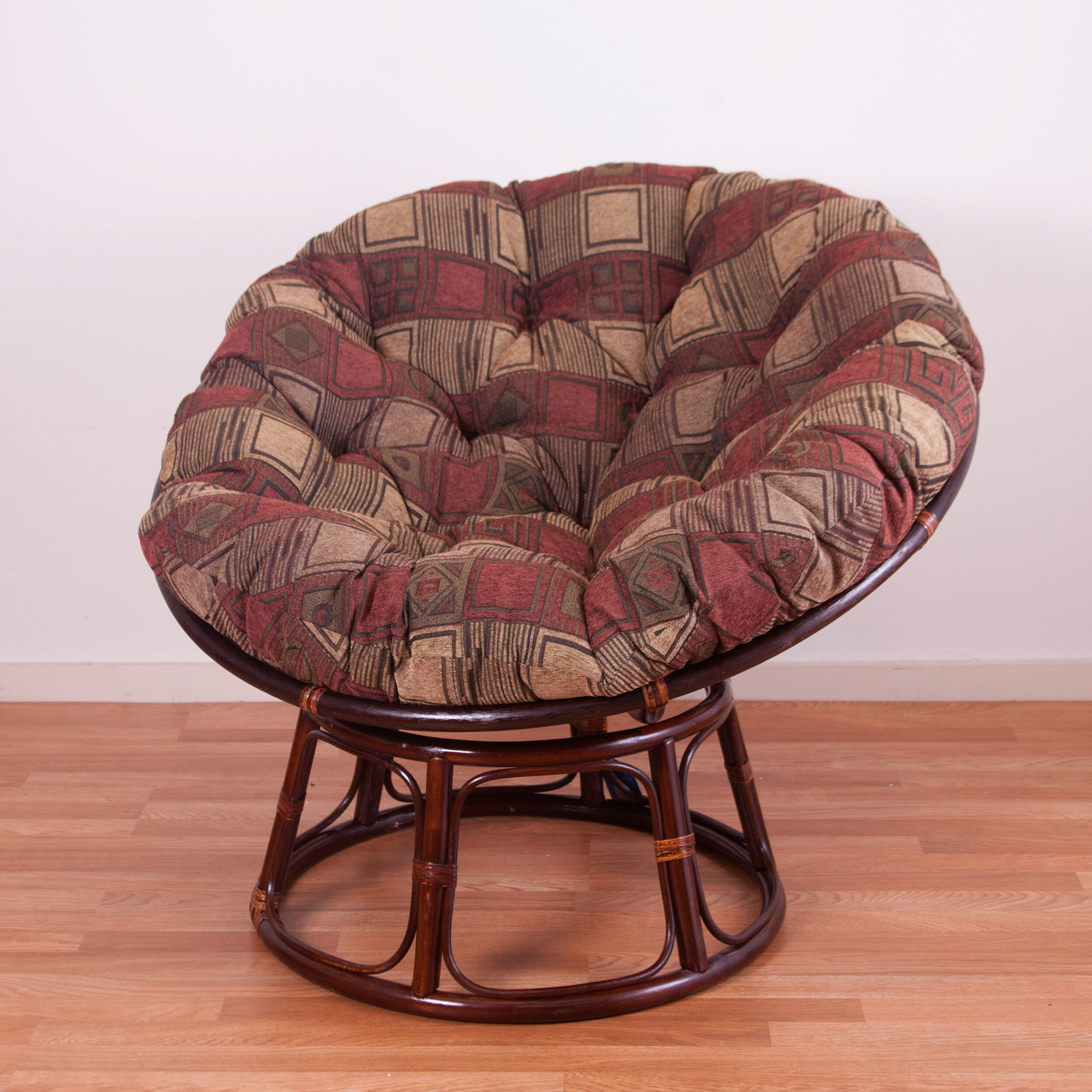 Orndorff Tufted Papasan Chairs Within 2020 Bouirou Papasan Chair (View 8 of 20)