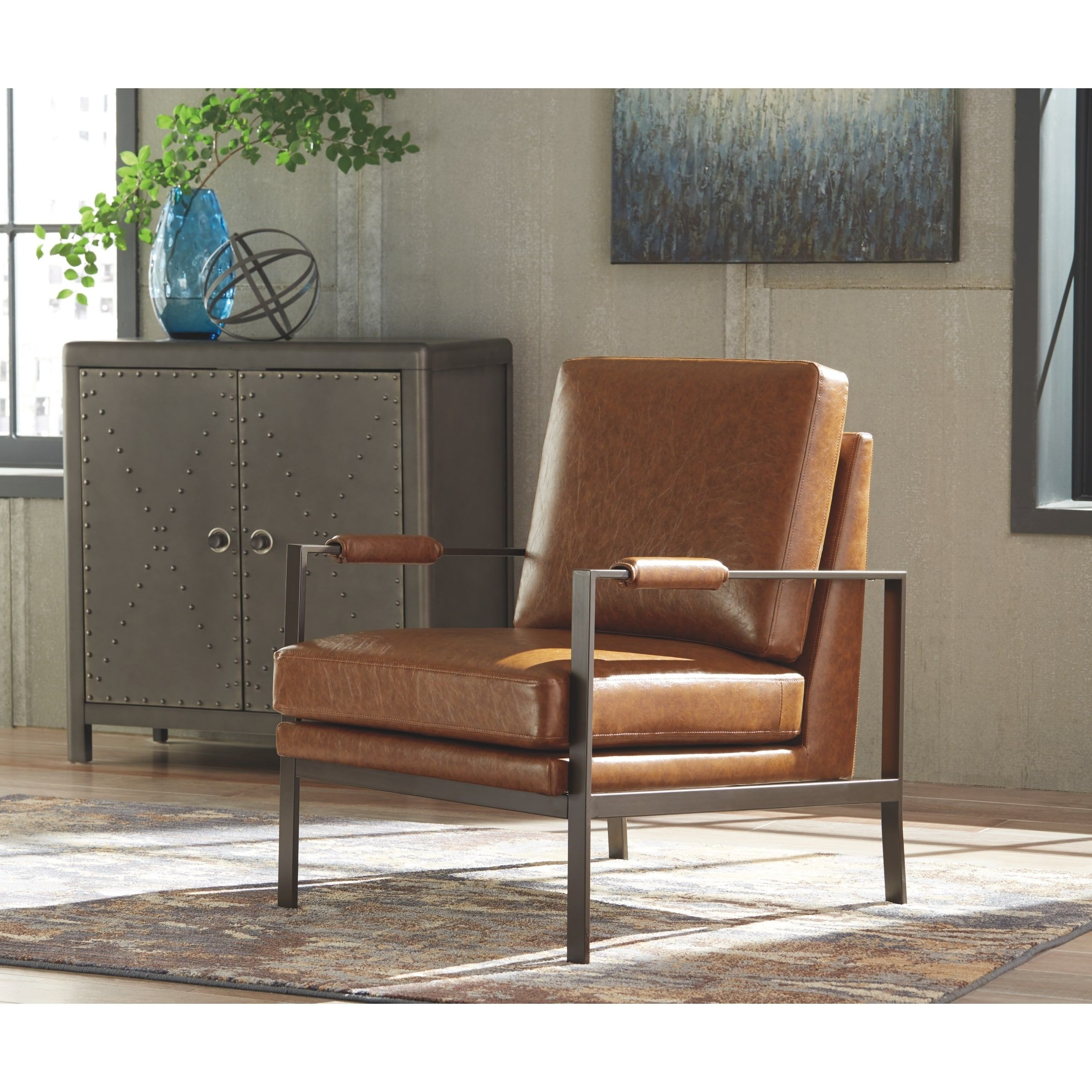 Overstock: Online Shopping – Bedding, Furniture Within Most Current Jarin Faux Leather Armchairs (View 9 of 20)