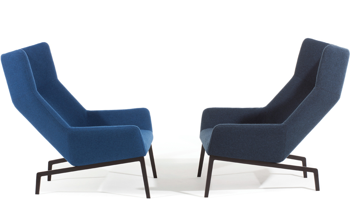 Park Lounge Chair & Ottoman For Most Up To Date Modern Armchairs And Ottoman (View 20 of 20)