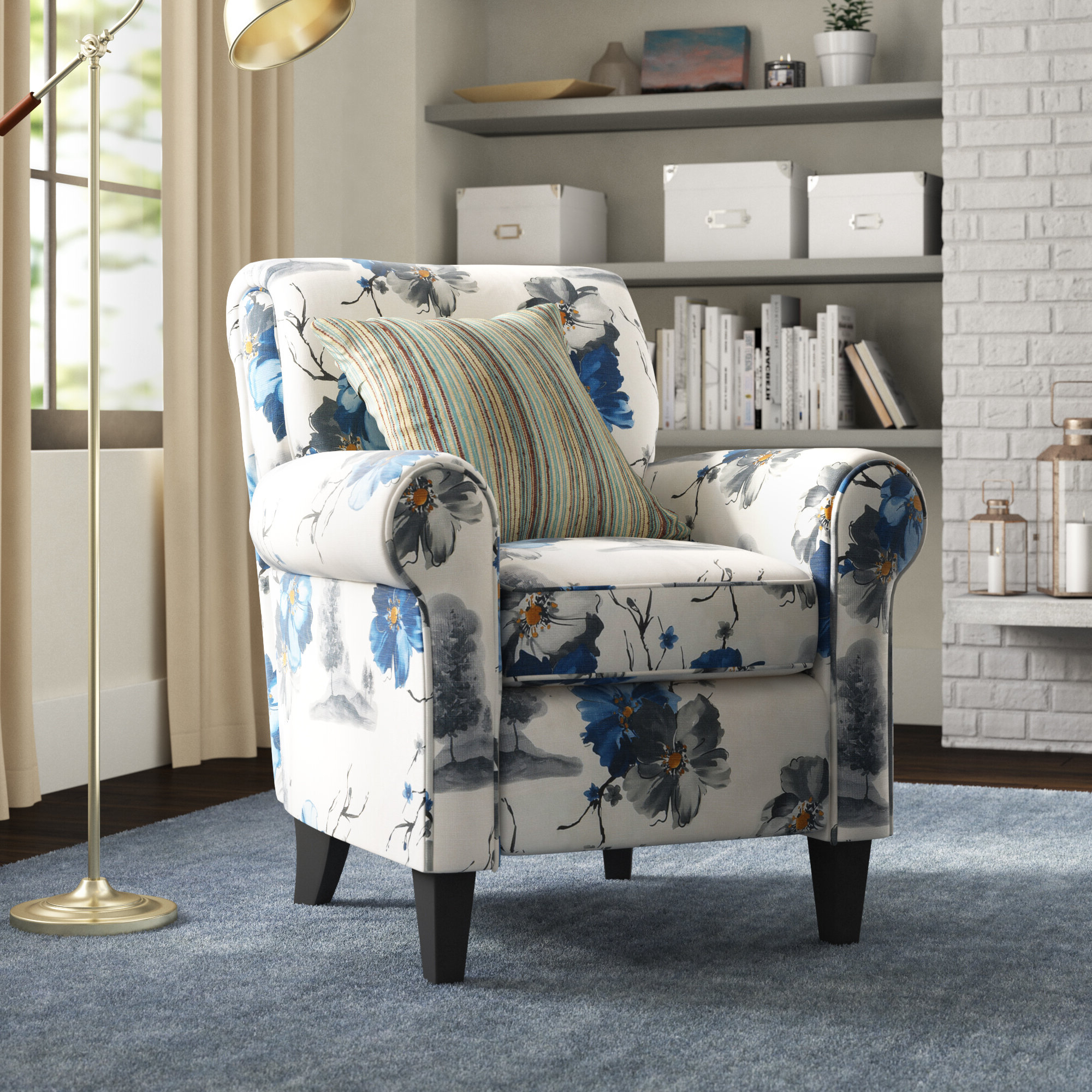 """Parkins 20"""" Armchair Within Most Recent Autenberg Armchairs (View 3 of 20)"""