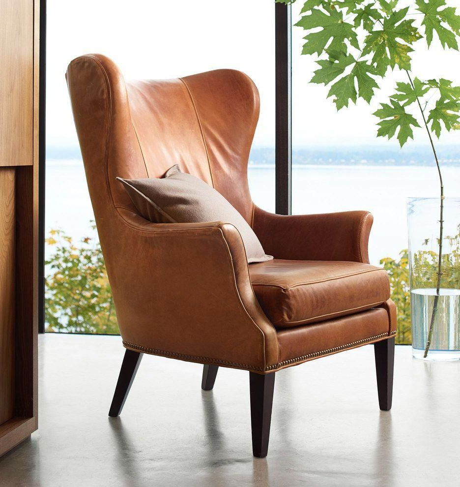 Pin On Wingback Chair With Trendy Marisa Faux Leather Wingback Chairs (View 7 of 20)
