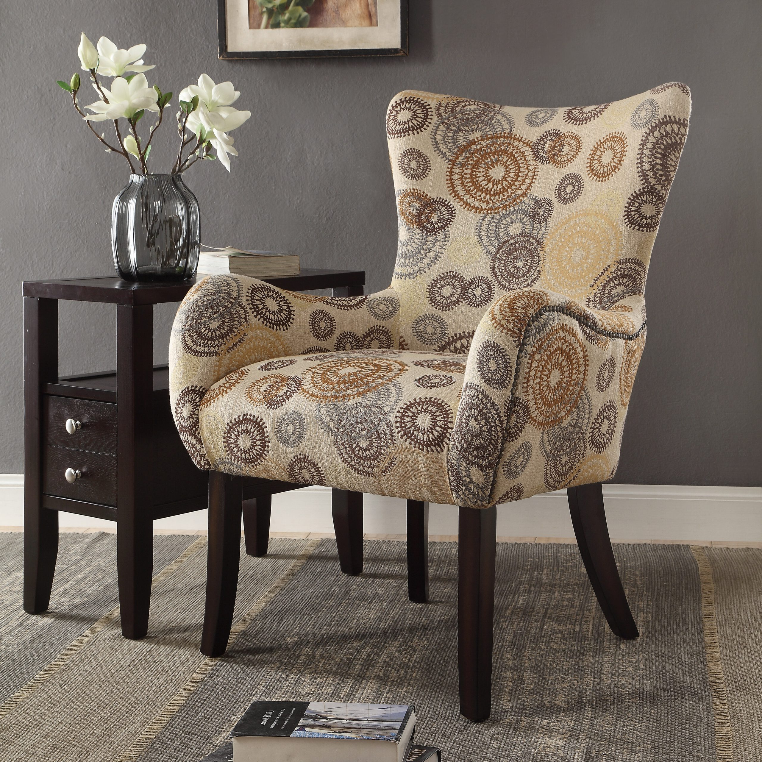 Popular Carneys Wingback Chair Within Waterton Wingback Chairs (View 10 of 20)