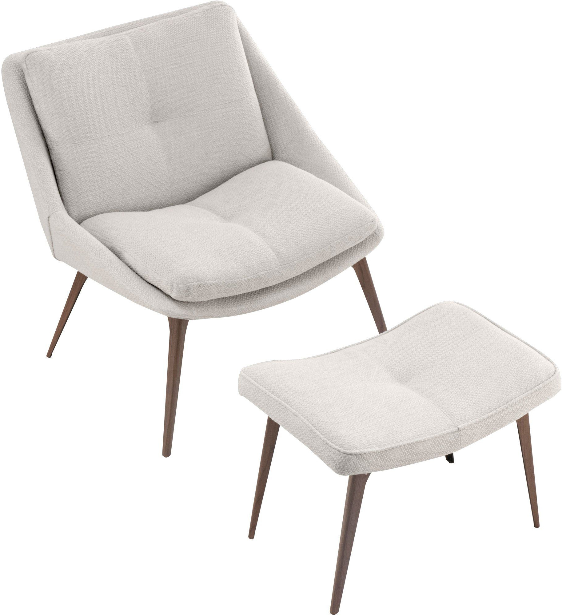 Popular Columbus Lounge Chair And Ottoman In Birch Fabric — France Throughout Columbus Armchairs (View 14 of 20)