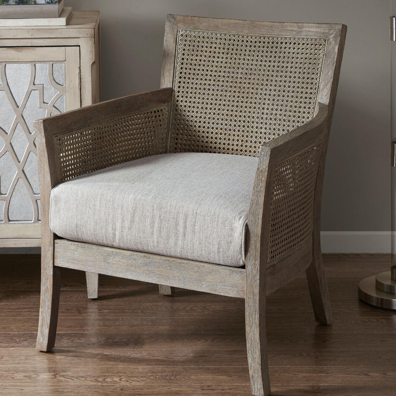 "Popular Edgemoor 28"" W Polyester Blend Armchair Intended For Polyester Blend Armchairs (View 6 of 20)"