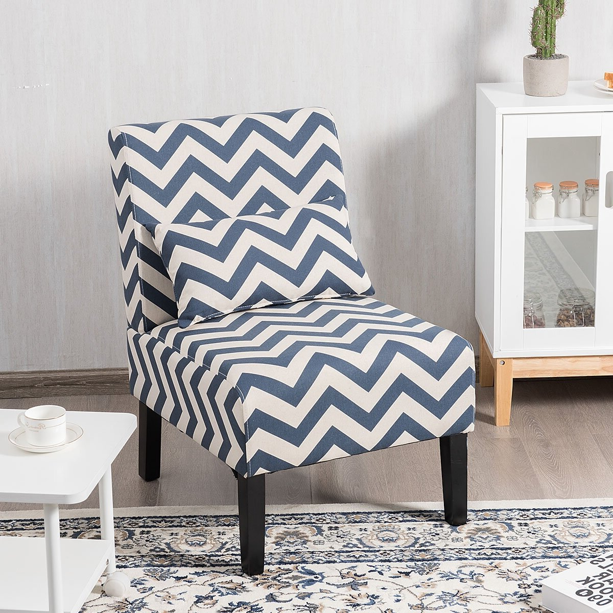 Popular Modern & Contemporary Slipper Accent Chairs You'll Love In Pertaining To Alush Accent Slipper Chairs (set Of 2) (View 13 of 20)