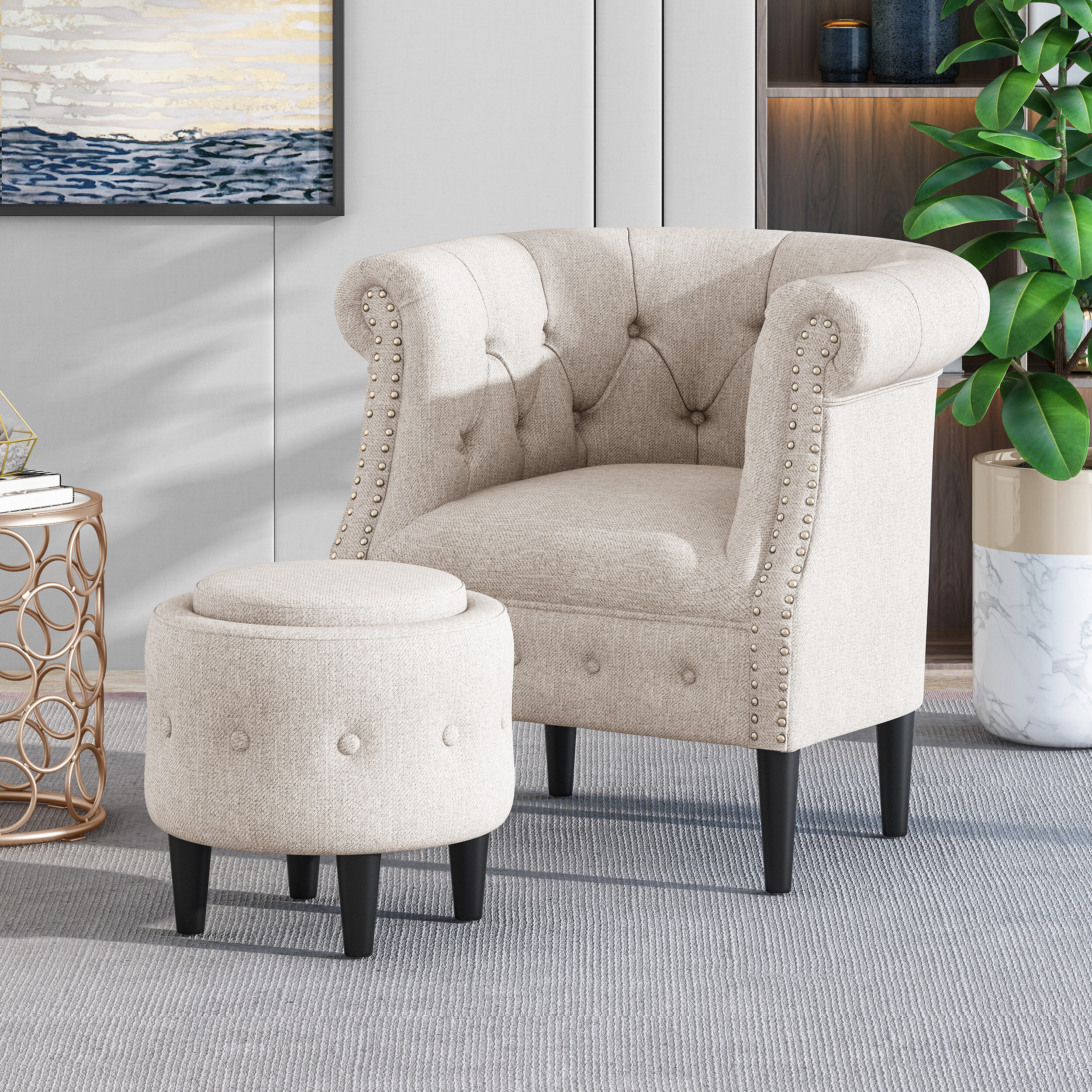 Popular Rosdorf Park Accent Chairs You'll Love In (View 9 of 20)