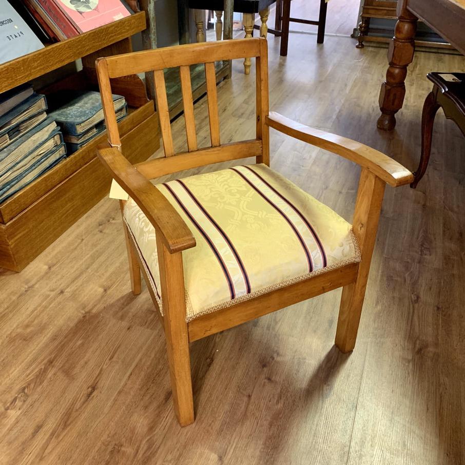 Preferred Art Deco Beechwood Arm Chair In Beachwood Arm Chairs (View 16 of 20)