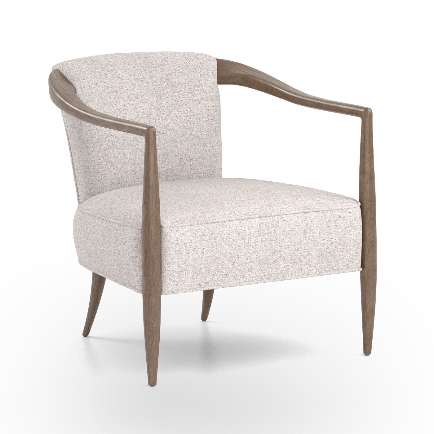 Preferred Dorcaster Barrel Chairs With Regard To Barrel Scandinavian Accent Chairs You'll Love In (View 8 of 20)