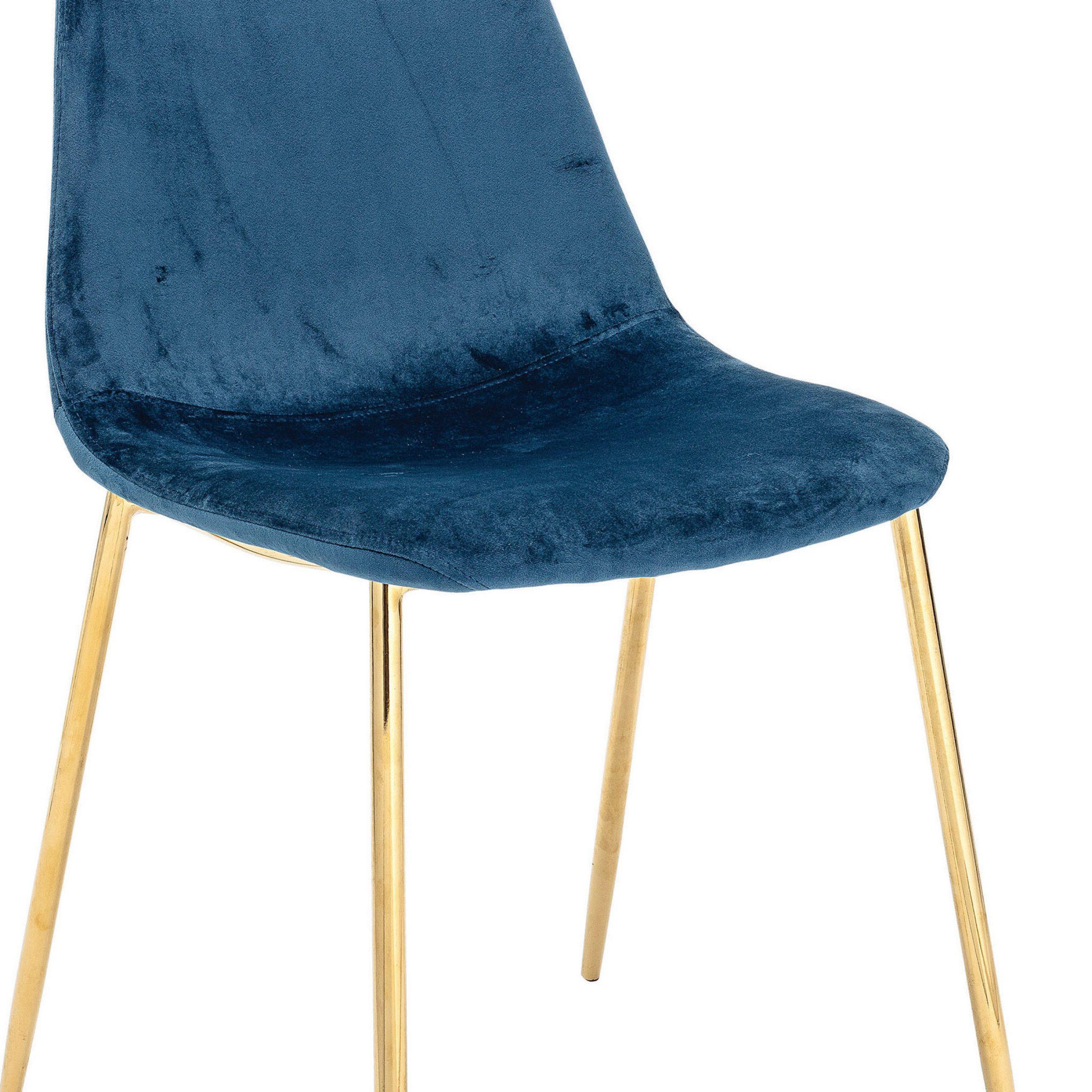 Preferred Erasmus Velvet Side Chairs (set Of 2) In Deitz Upholstered Velvet Side Chair (View 13 of 20)