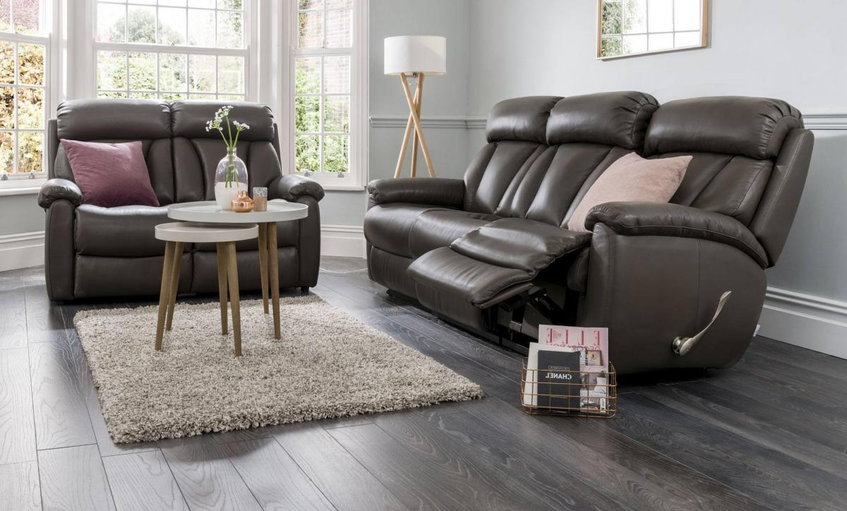 Preferred Georgina Armchairs (set Of 2) Pertaining To La Z Boy Georgina Sofa Collection At Relax Sofas And Beds (View 5 of 20)