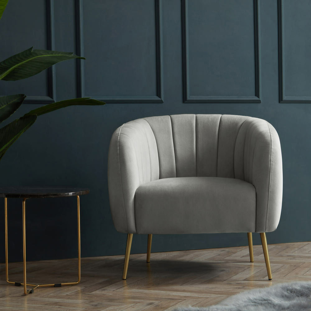 Featured Photo of Indianola Modern Barrel Chairs